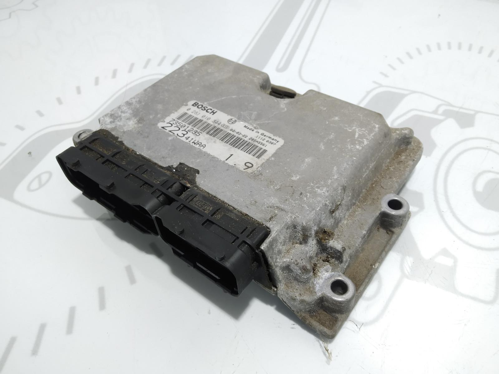 Блок управления двигателем Fiat Doblo 1.9 JTD 2002 (б/у)