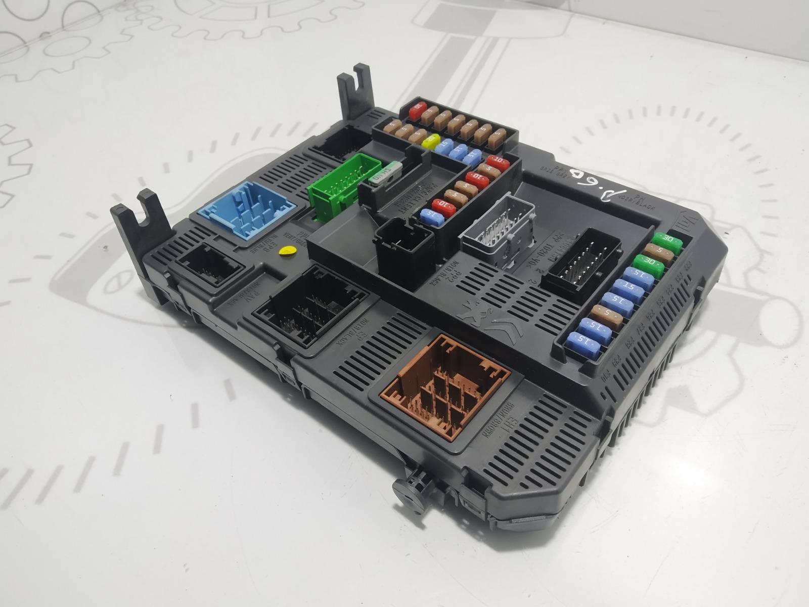 Блок предохранителей Citroen C4 Grand Picasso 1.6 HDI 2014 (б/у)