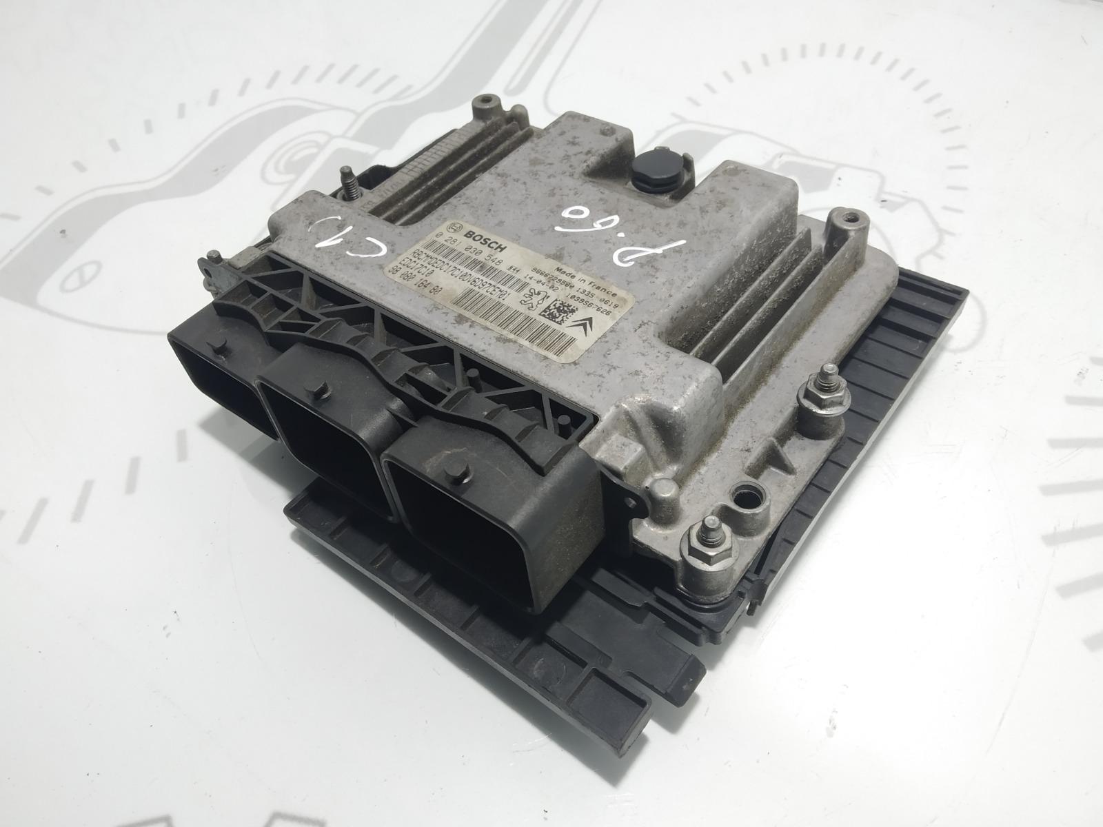 Блок управления двигателем Citroen C4 Grand Picasso 1.6 HDI 2014 (б/у)