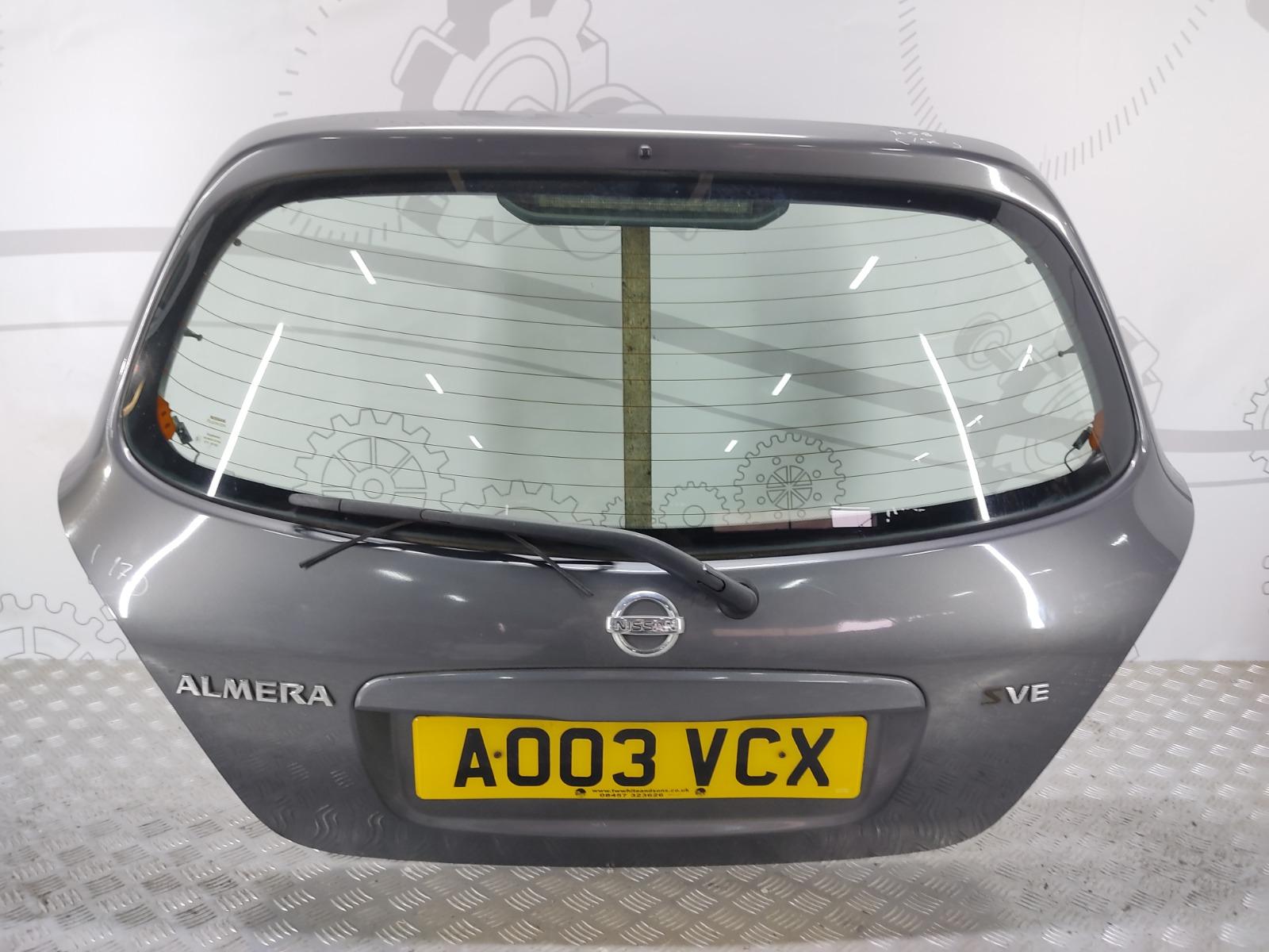 Крышка багажника (дверь 3-5) Nissan Almera N16 1.5 I 2003 (б/у)