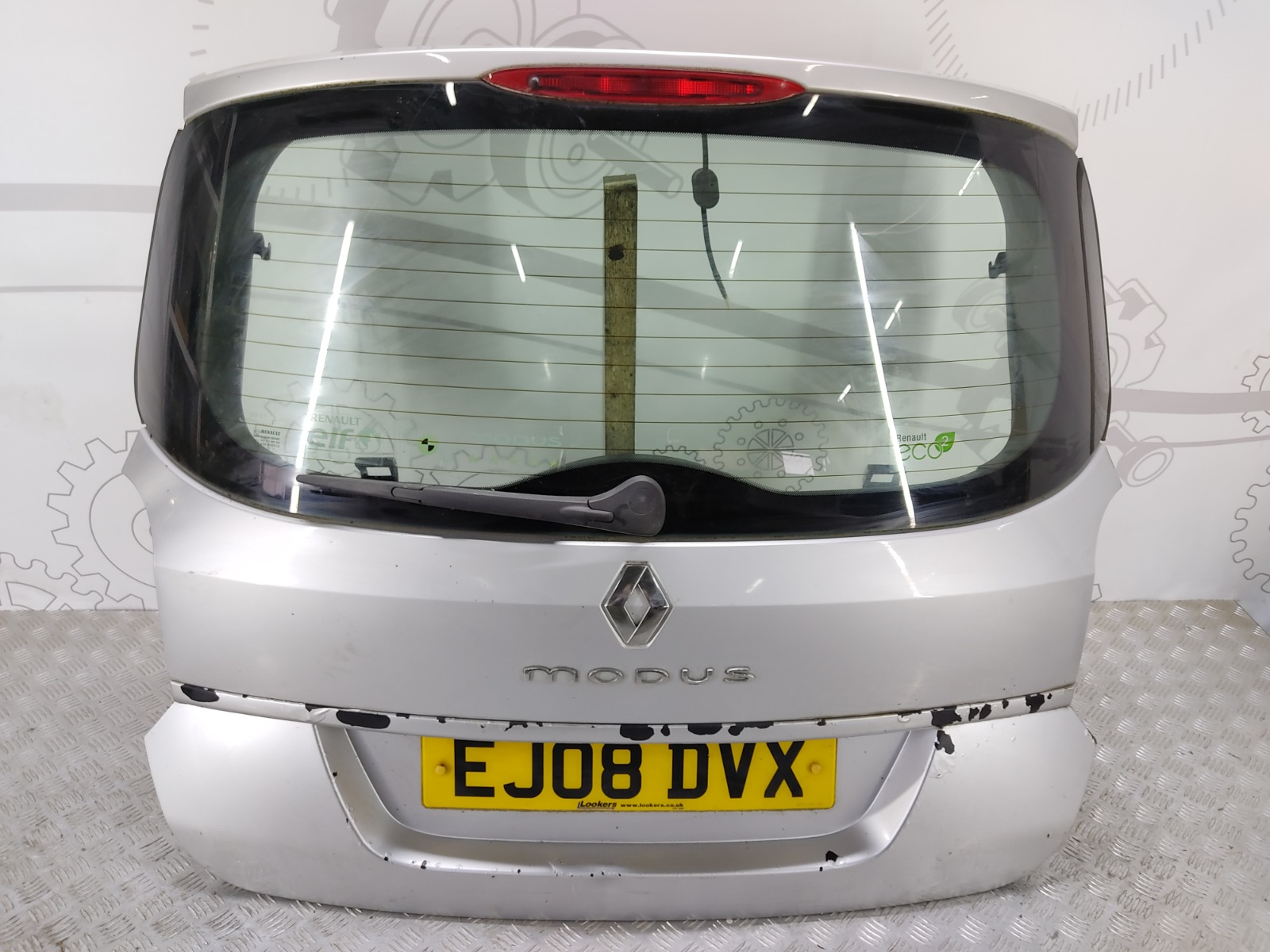 Крышка багажника (дверь 3-5) Renault Grand Modus 1.5 DCI 2008 (б/у)