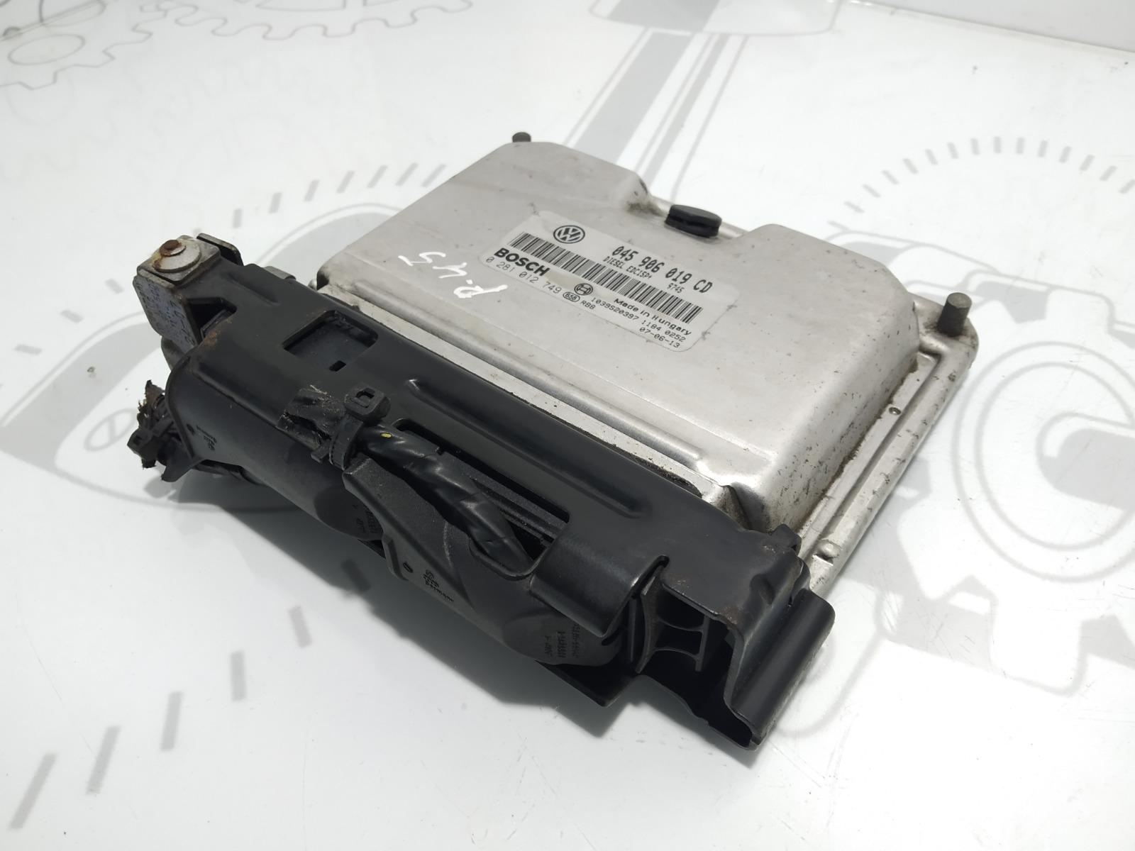 Блок управления двигателем Skoda Fabia 1.4 TDI 2007 (б/у)