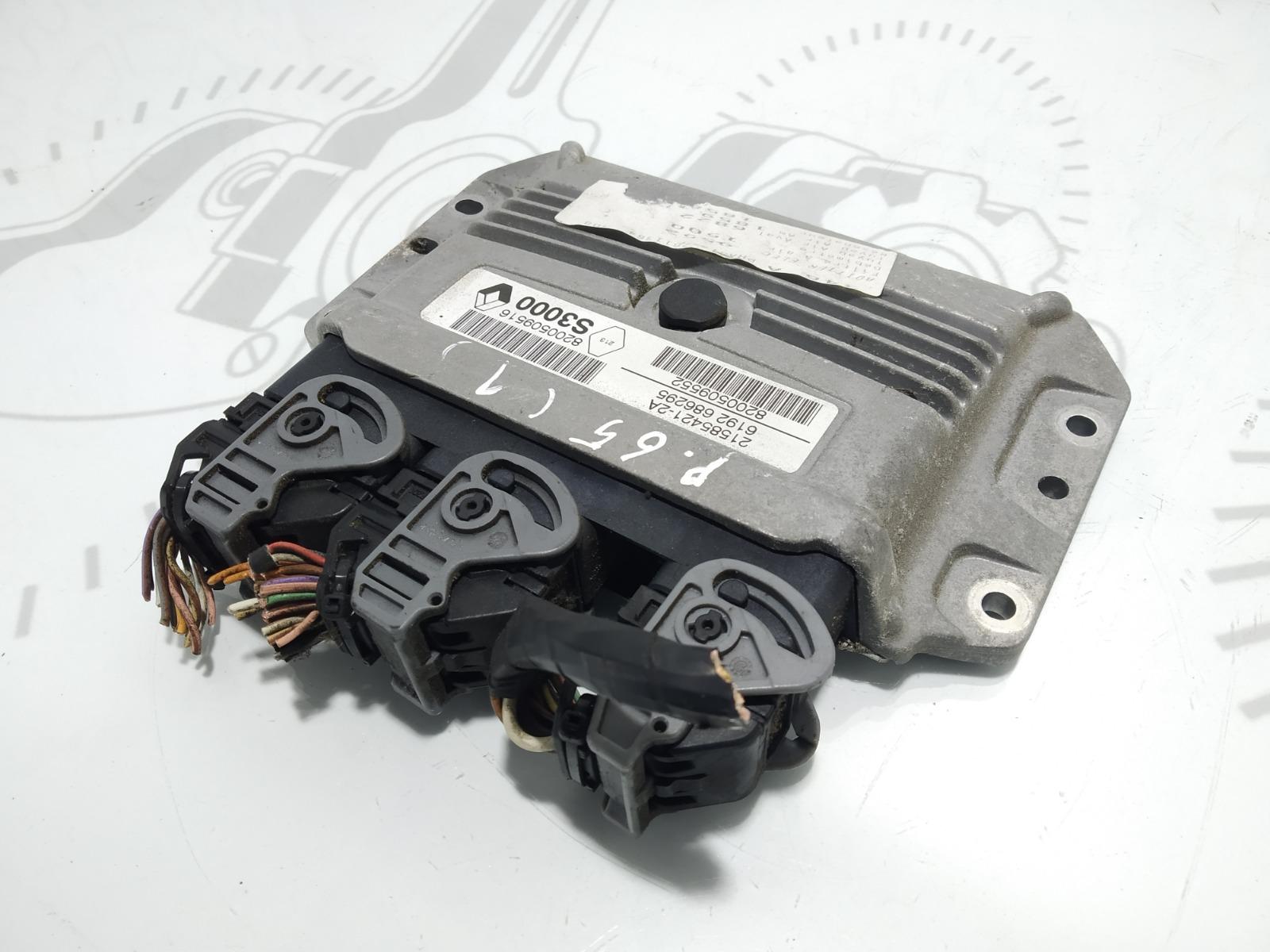 Блок управления двигателем Renault Scenic 1.6 I 2006 (б/у)