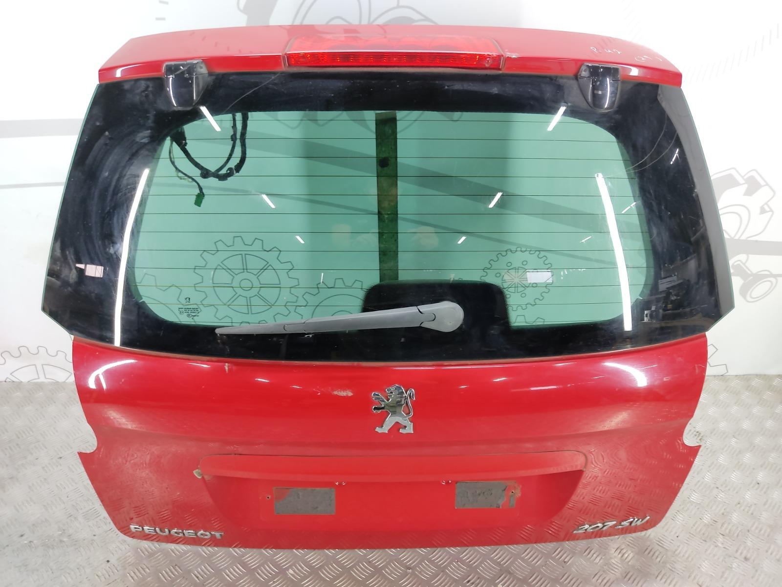 Крышка багажника (дверь 3-5) Peugeot 207 1.6 I 2008 (б/у)