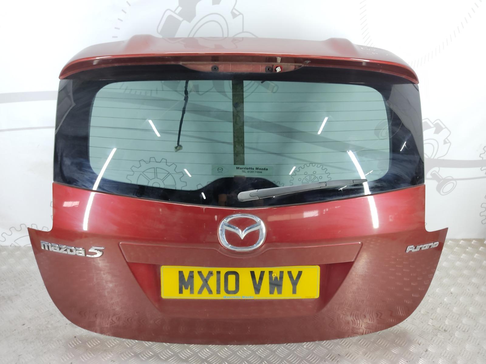 Крышка багажника (дверь 3-5) Mazda 5 2.0 I 2010 (б/у)