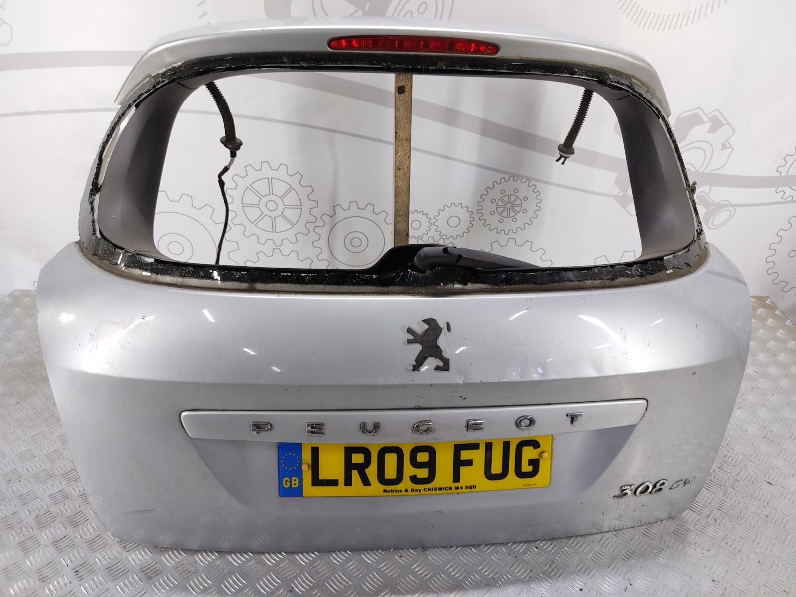 Крышка багажника (дверь 3-5) Peugeot 308 T7 1.6 HDI 2009 (б/у)