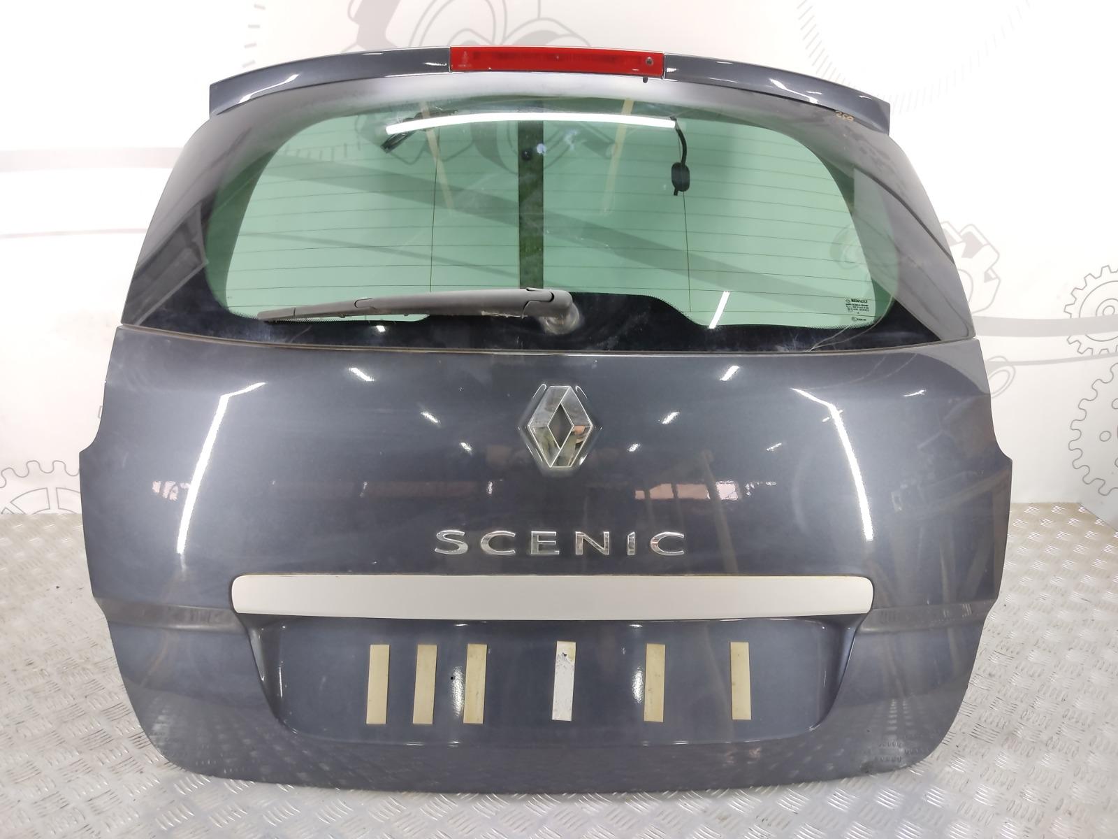 Крышка багажника (дверь 3-5) Renault Grand Scenic 1.6 I 2011 (б/у)
