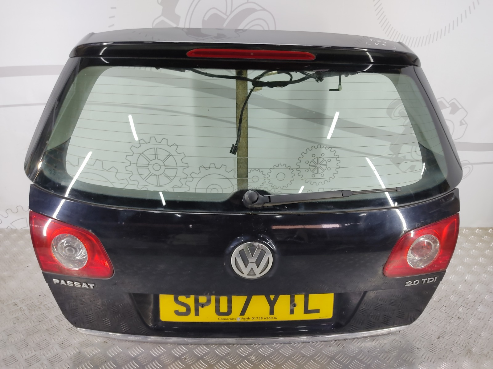 Крышка багажника (дверь 3-5) Volkswagen Passat B6 2.0 TDI 2007 (б/у)