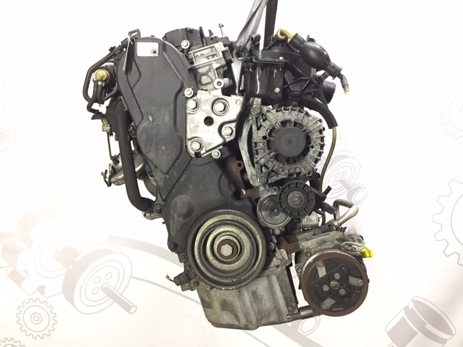 Двигатель дизельный Peugeot 407 2.0 HDI 2007 (б/у)