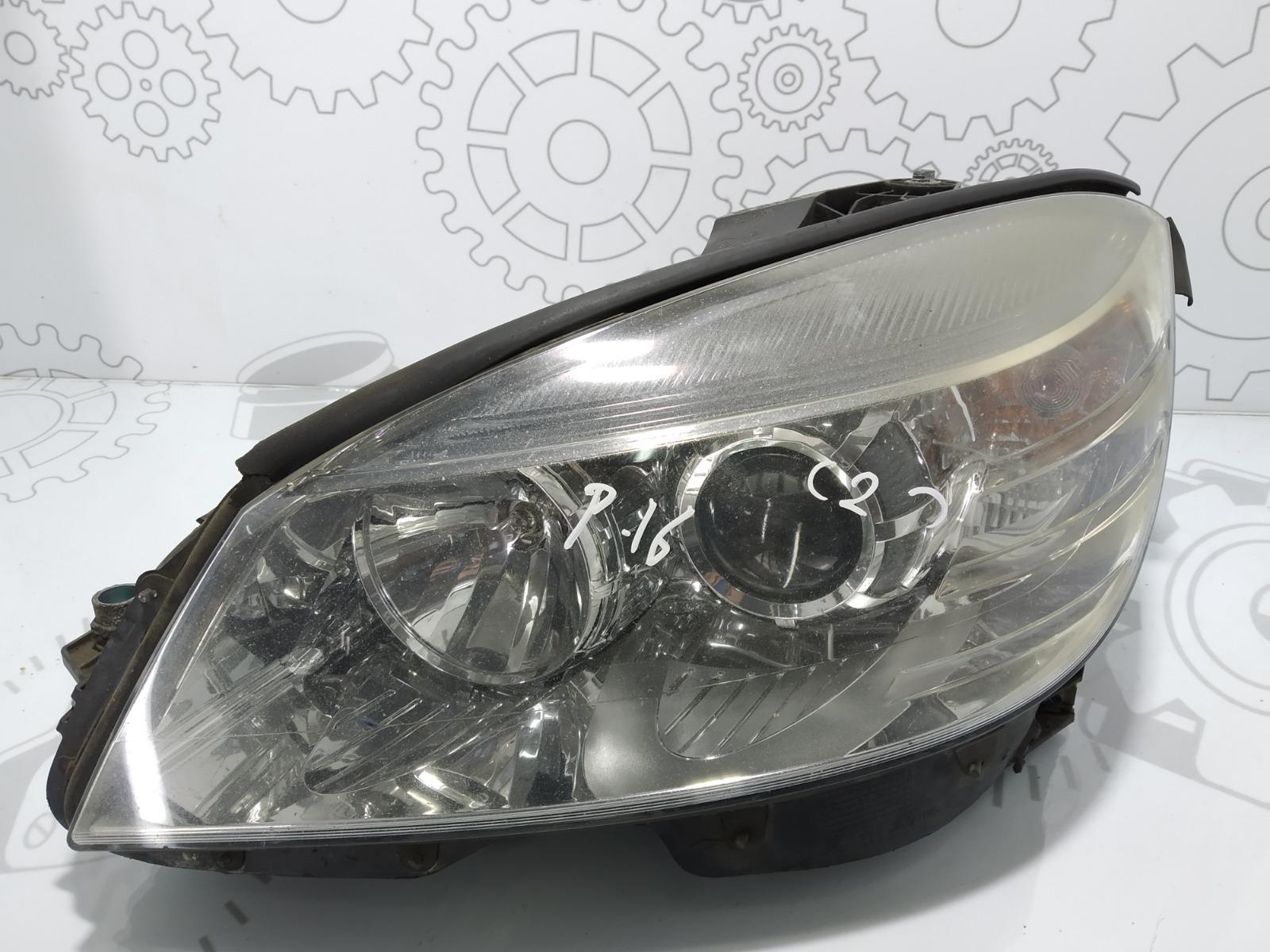 Фара левая Mercedes C W204 2.2 CDI 2007 (б/у)