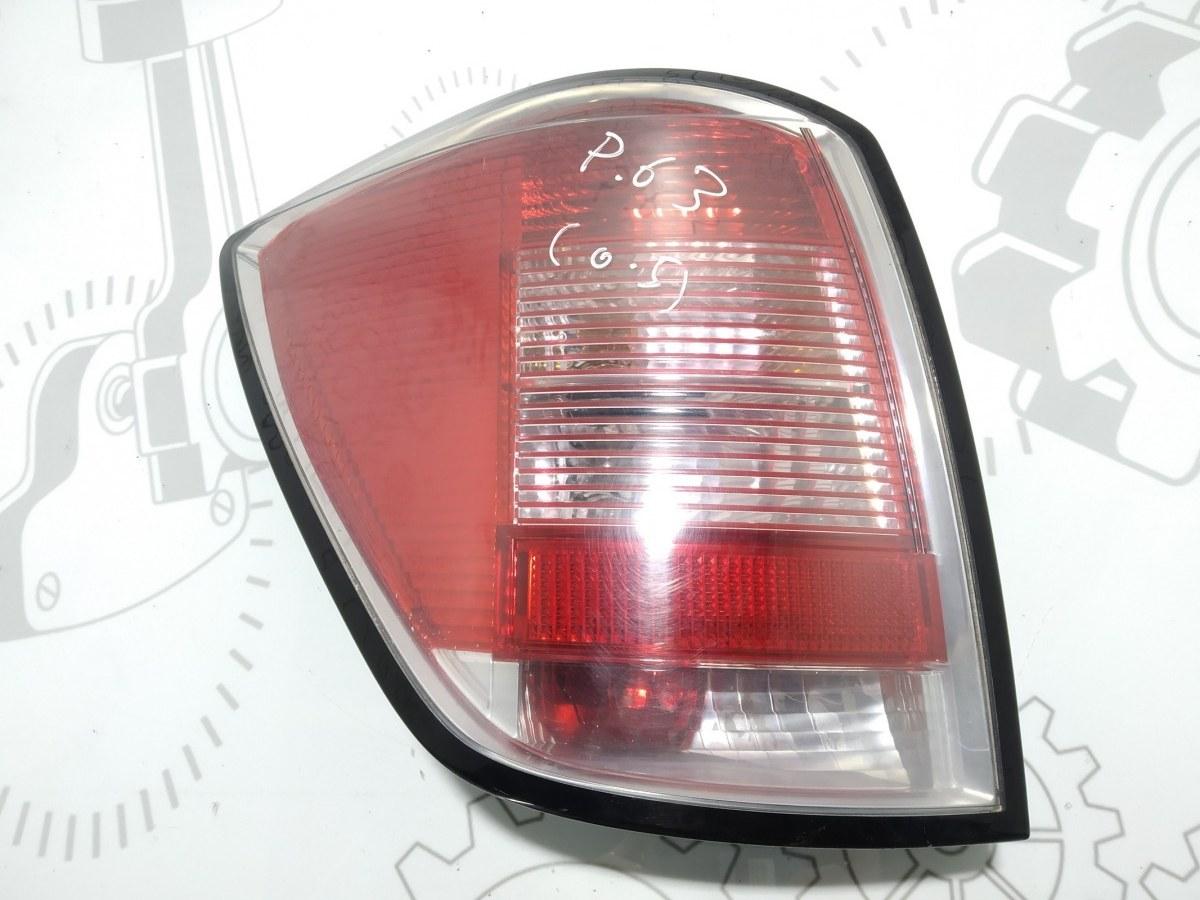 Фонарь задний левый Opel Astra H 1.7 CDTI 2007 (б/у)