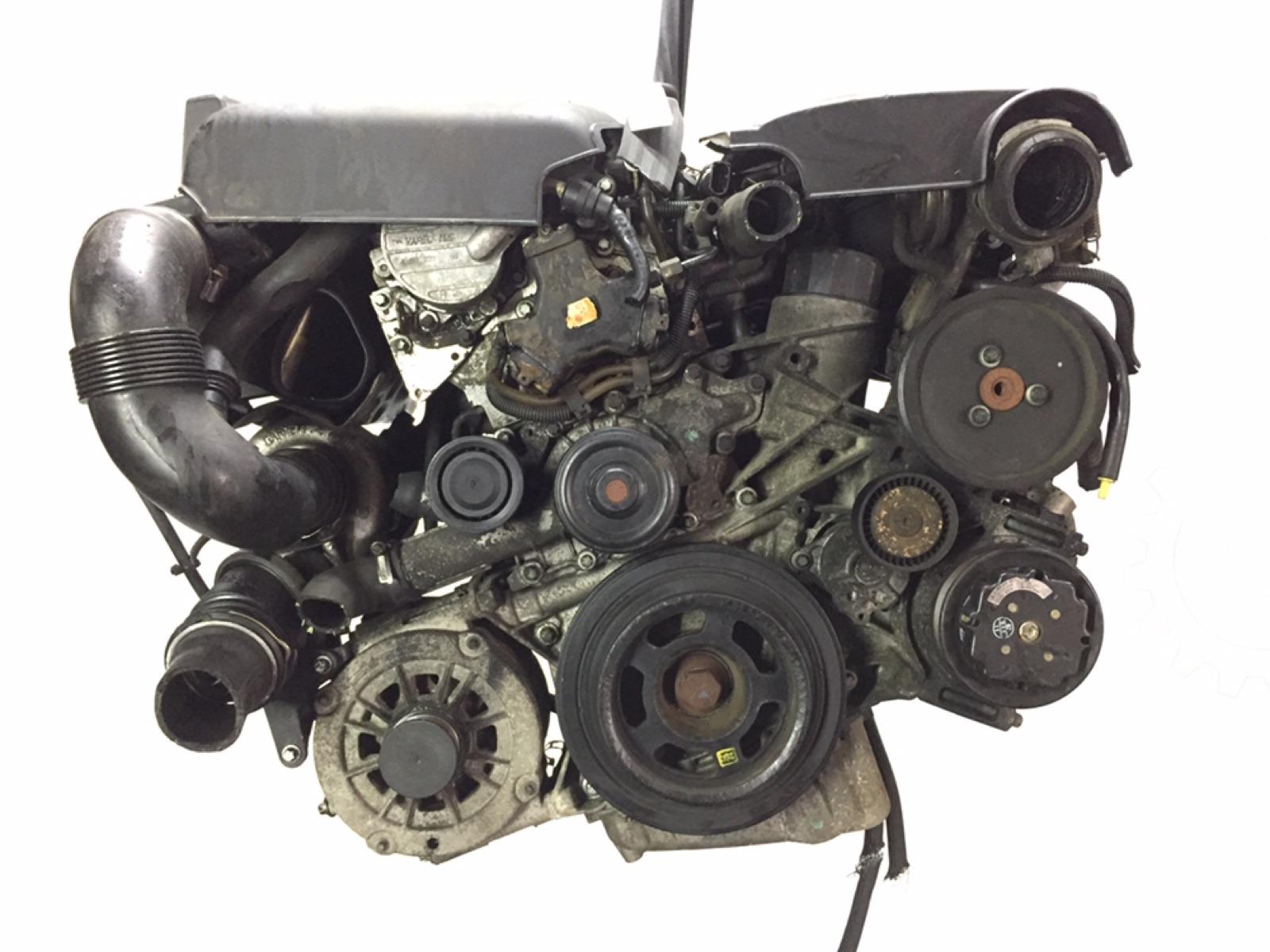 Двигатель дизельный Mercedes C W203 2.2 CDI 2003 (б/у)
