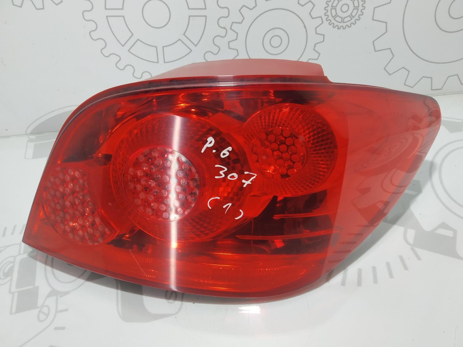 Фонарь задний правый Peugeot 307 1.6 HDI 2005 (б/у)