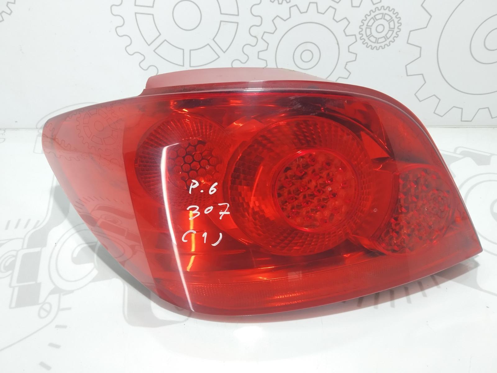 Фонарь задний левый Peugeot 307 1.6 HDI 2005 (б/у)