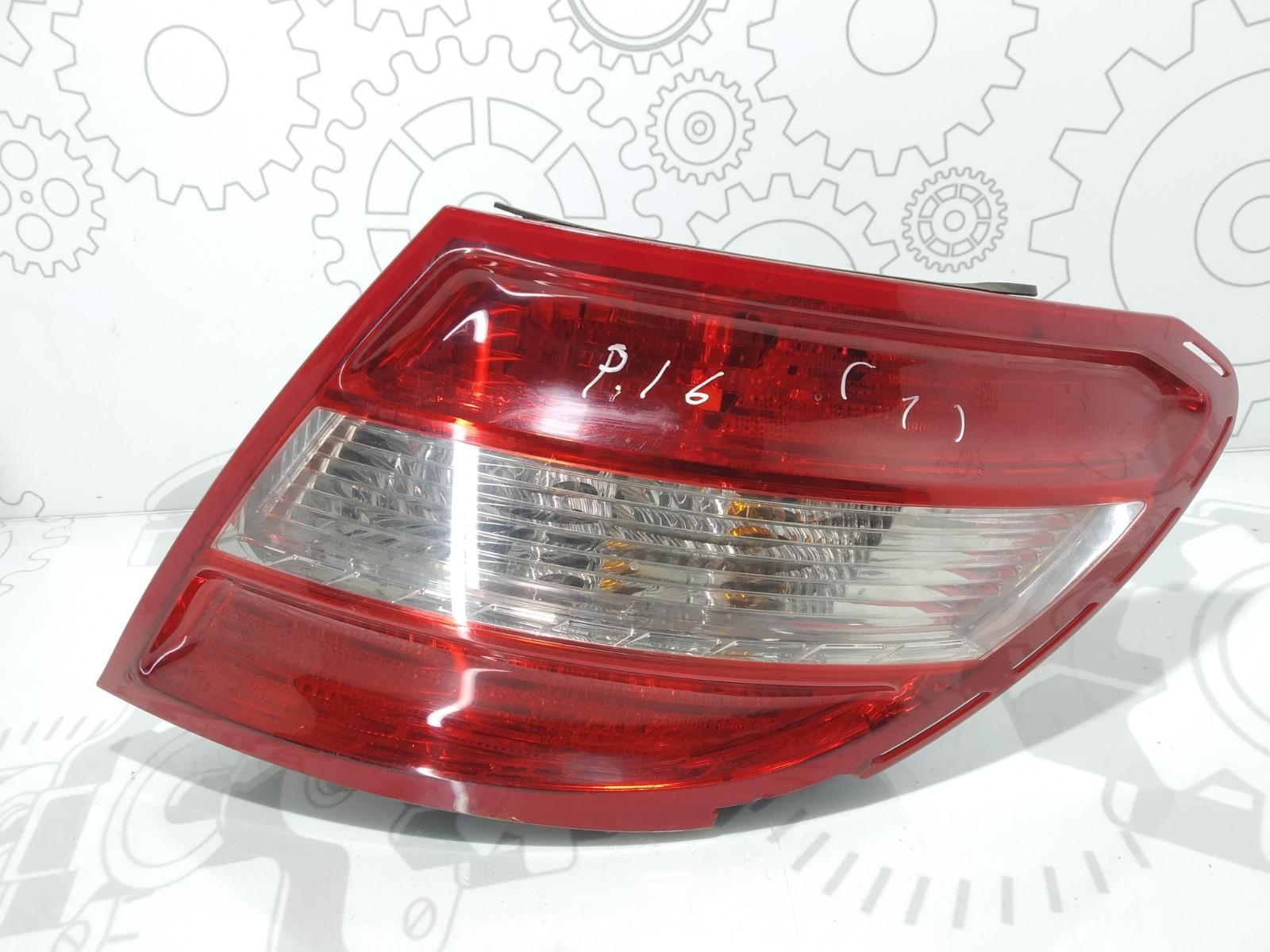 Фонарь задний правый Mercedes C W204 2.2 CDI 2007 (б/у)