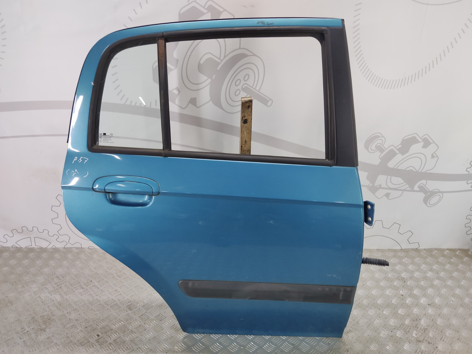 Дверь задняя правая Hyundai Getz 1.3 I 2004 (б/у)