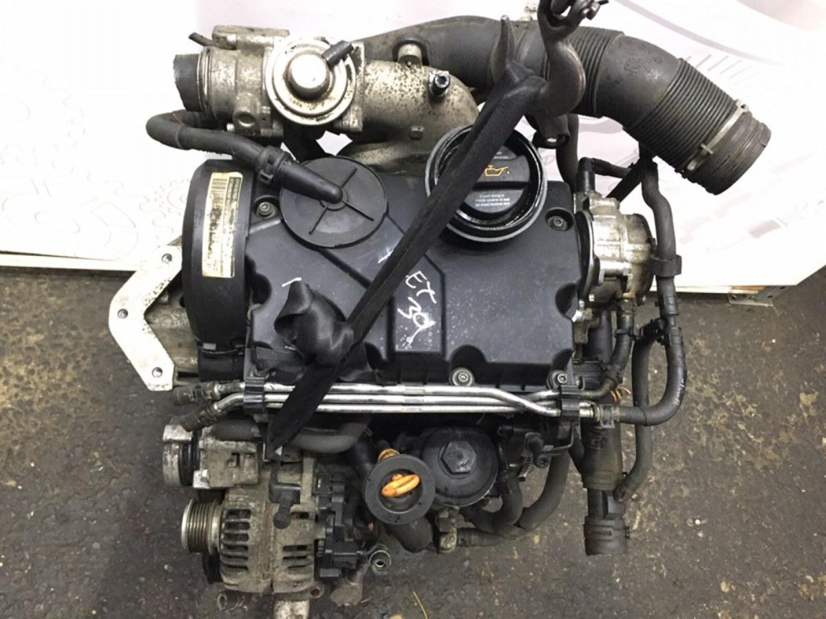 Двигатель дизельный Skoda Fabia 1.4 TDI 2007 (б/у)