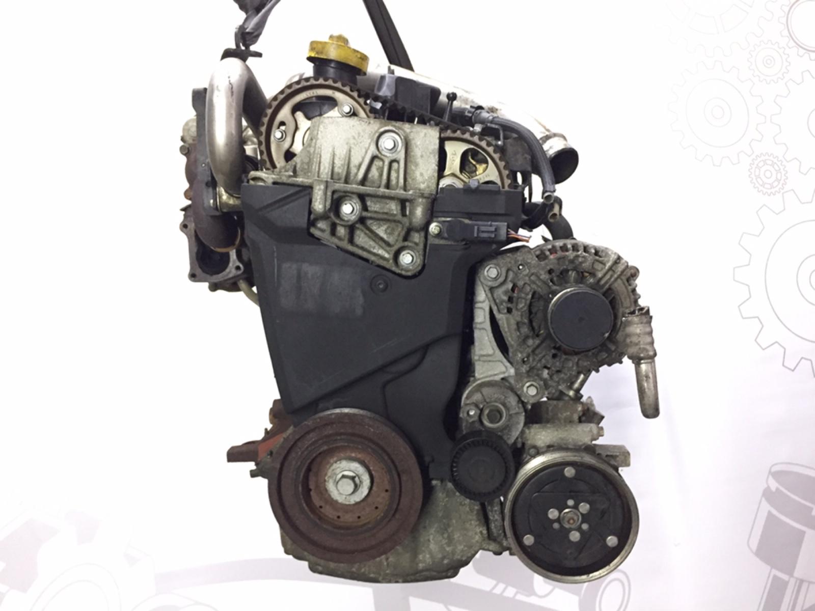 Двигатель дизельный Renault Grand Modus 1.5 DCI 2008 (б/у)