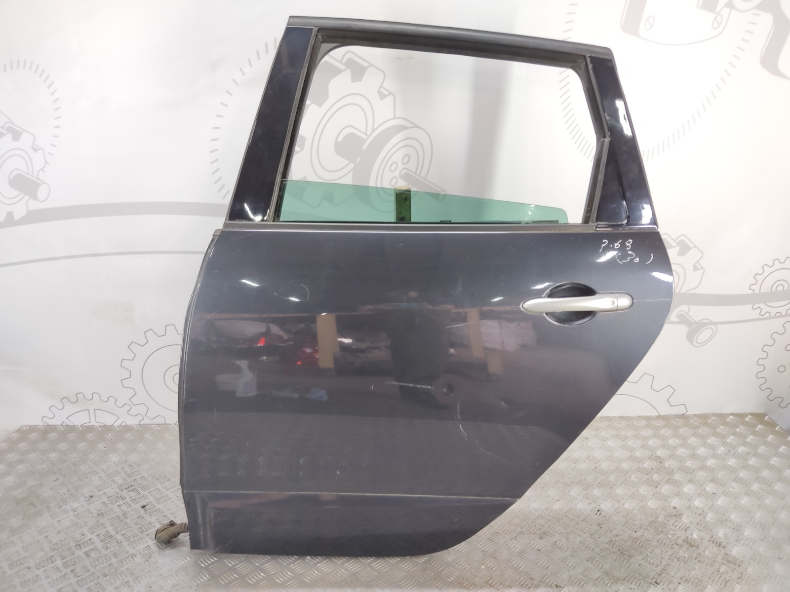 Дверь задняя левая Renault Grand Scenic 1.6 I 2011 (б/у)