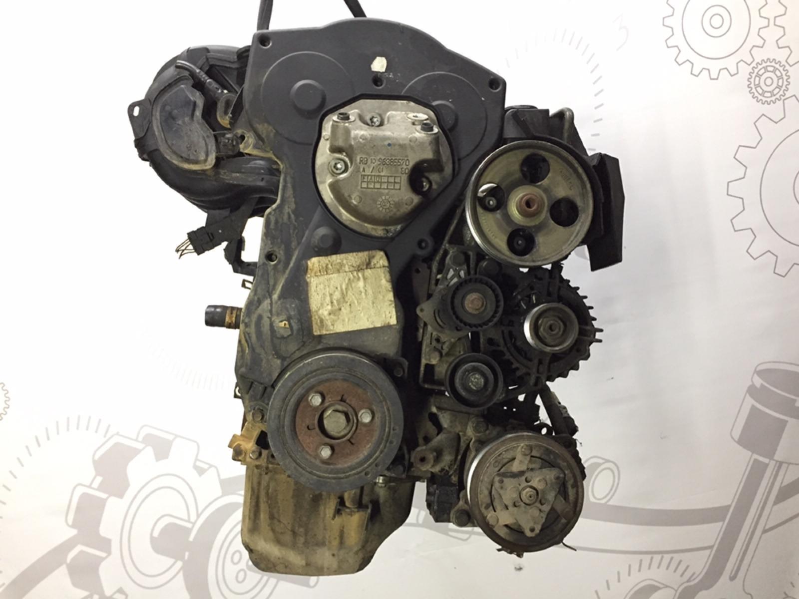 Двигатель бензиновый Peugeot 206 1.6 I 2002 (б/у)