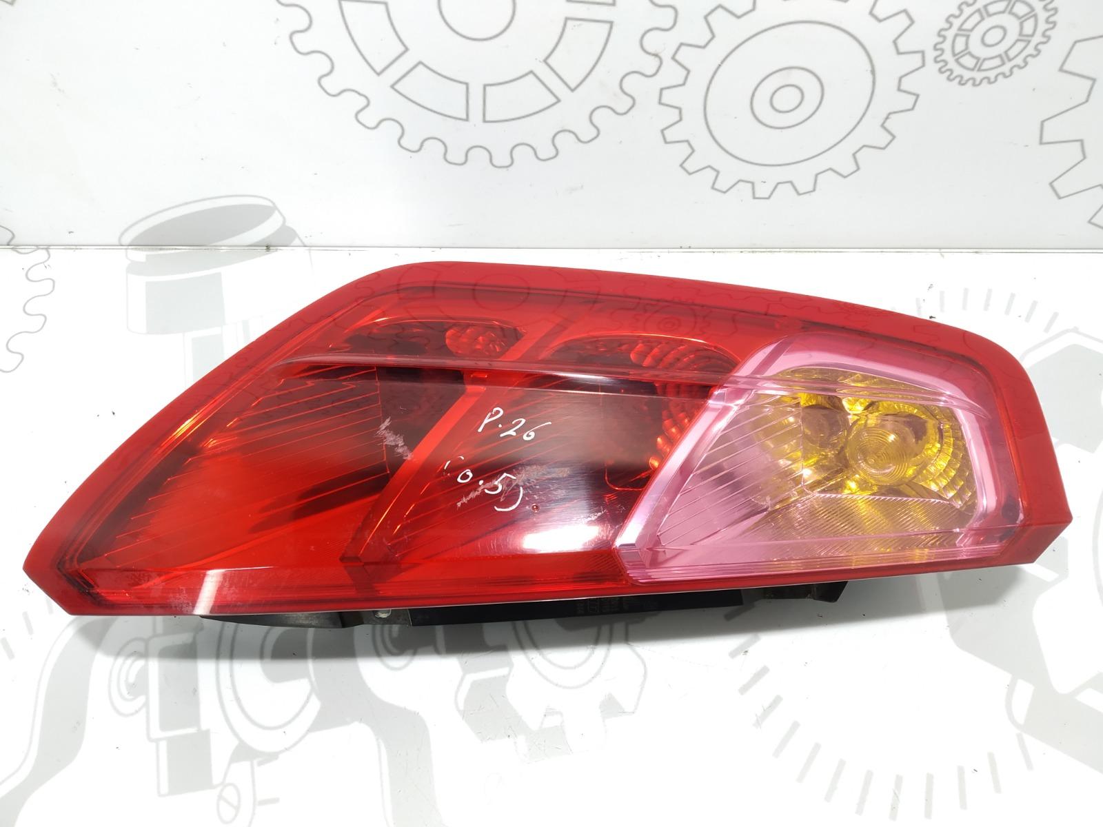 Фонарь задний левый Fiat Grande Punto 1.4 I 2009 (б/у)