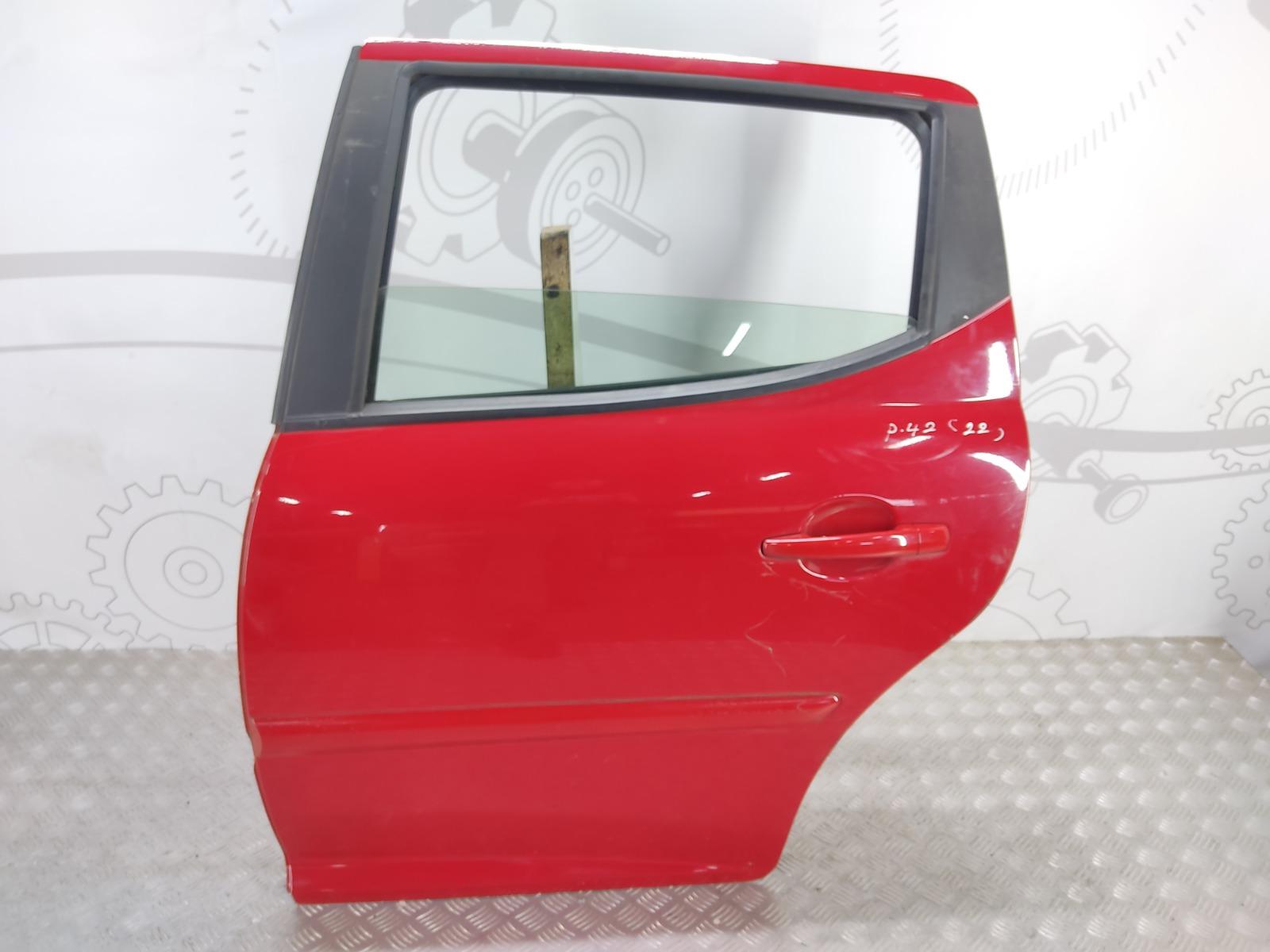 Дверь задняя левая Peugeot 207 1.6 I 2008 (б/у)