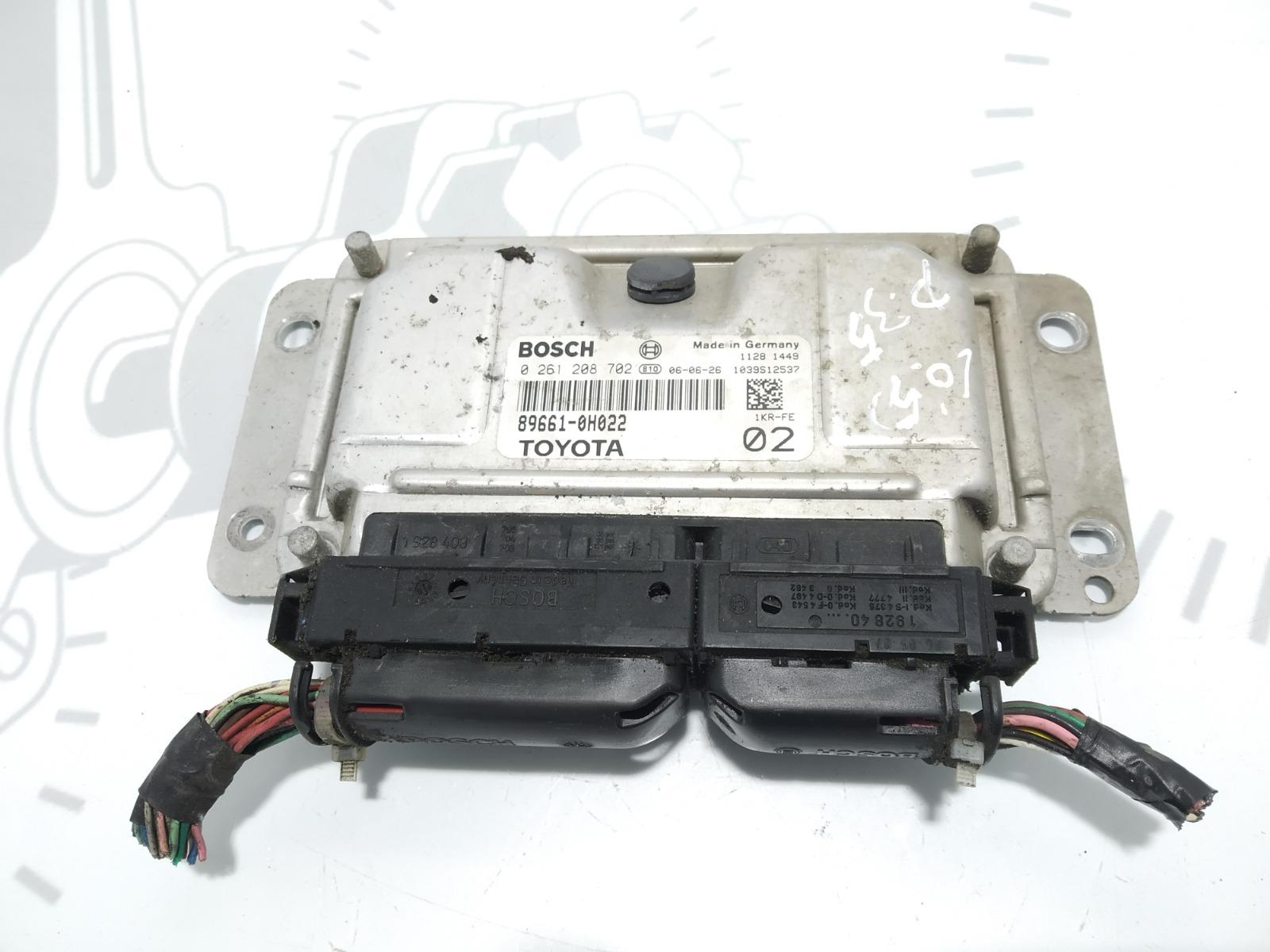 Блок управления двигателем Peugeot 107 1.0 I 2006 (б/у)