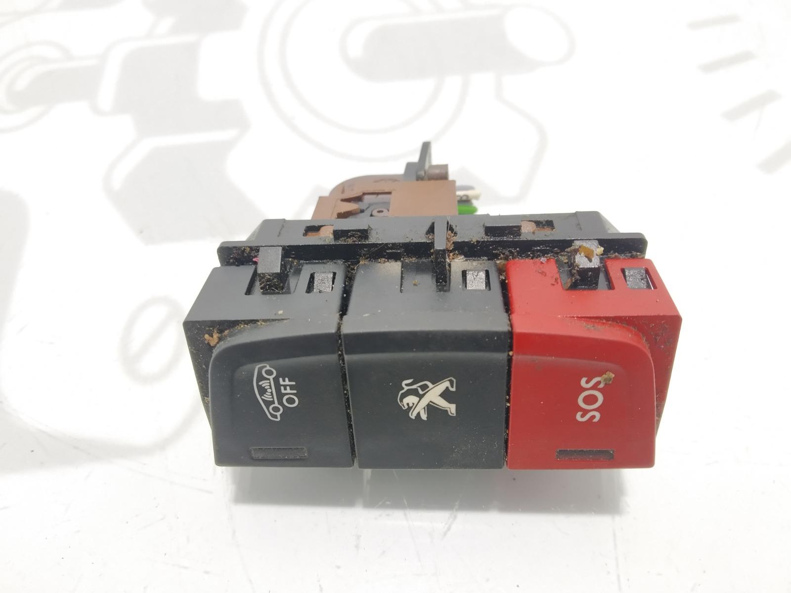 Кнопка (выключатель) Peugeot 508 1.6 HDI 2013 (б/у)