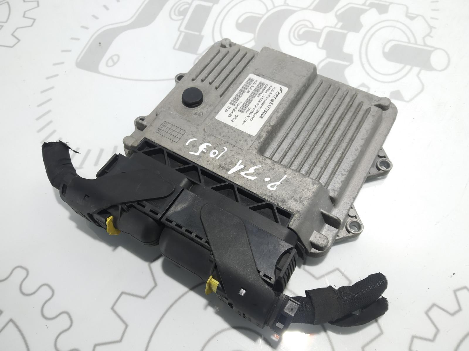 Блок управления двигателем Fiat Panda 1.3 JTD 2007 (б/у)