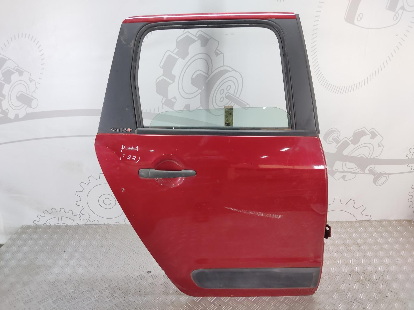 Дверь задняя правая Citroen C3 Picasso 1.6 HDI 2010 (б/у)