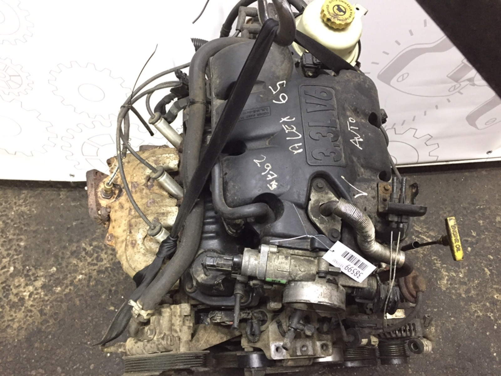 Двигатель бензиновый Chrysler Grand Voyager 3.3 I 2001 (б/у)