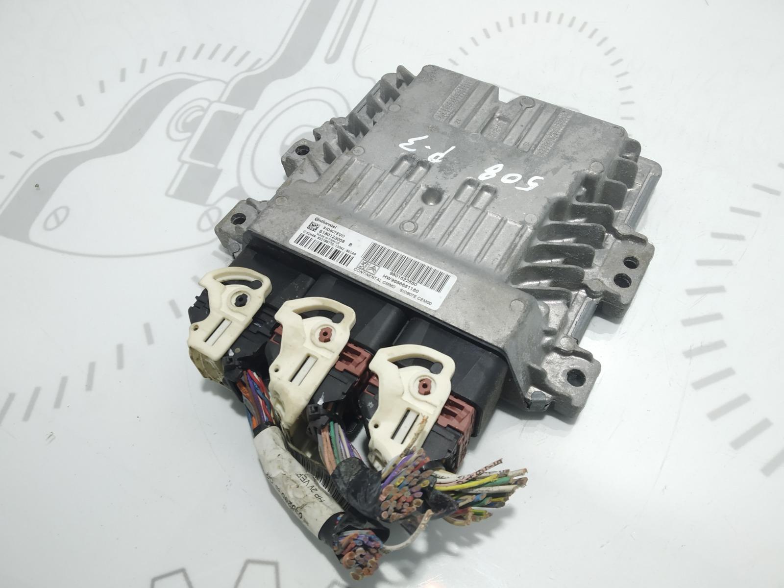 Блок управления двигателем Peugeot 508 1.6 HDI 2013 (б/у)