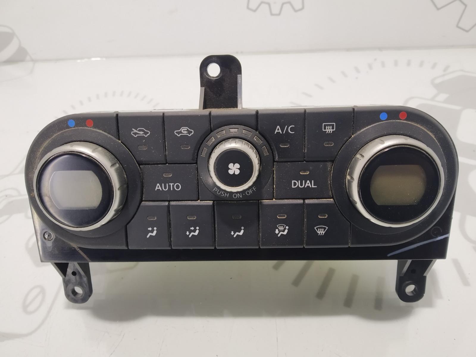 Блок управления печки/климат-контроля Nissan Qashqai 2.0 DCI 2008 (б/у)