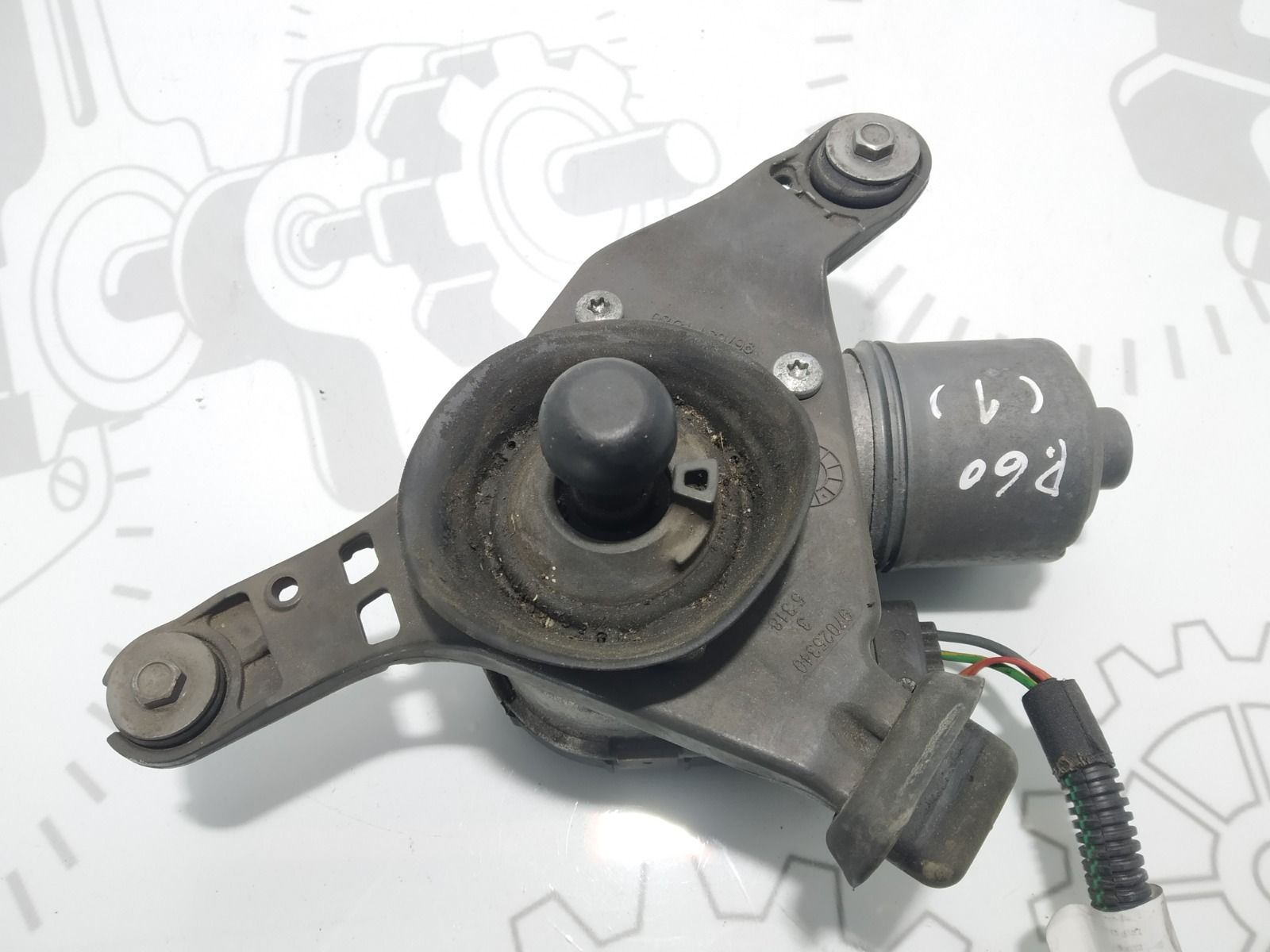 Моторчик передних стеклоочистителей (дворников) Citroen C4 Grand Picasso 1.6 HDI 2014 (б/у)
