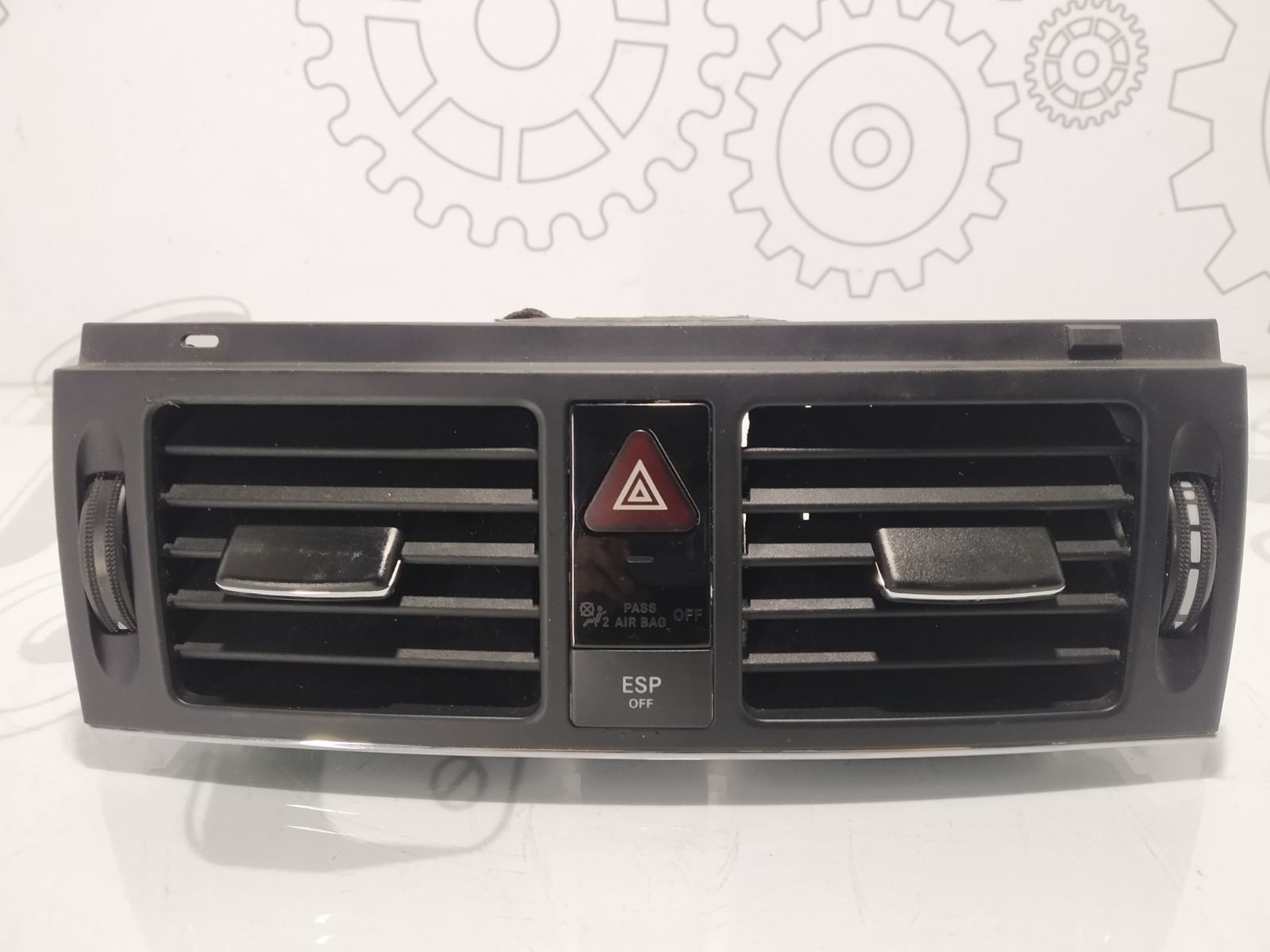 Кнопка аварийной сигнализации Mercedes C W204 2.2 CDI 2007 (б/у)