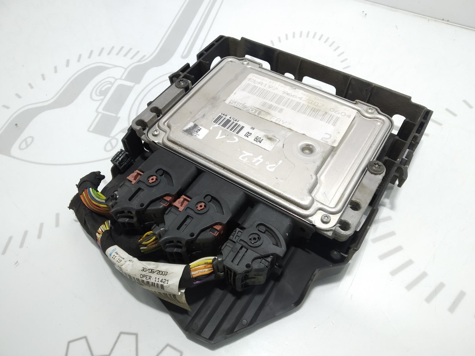 Блок управления двигателем Peugeot 207 1.6 I 2008 (б/у)