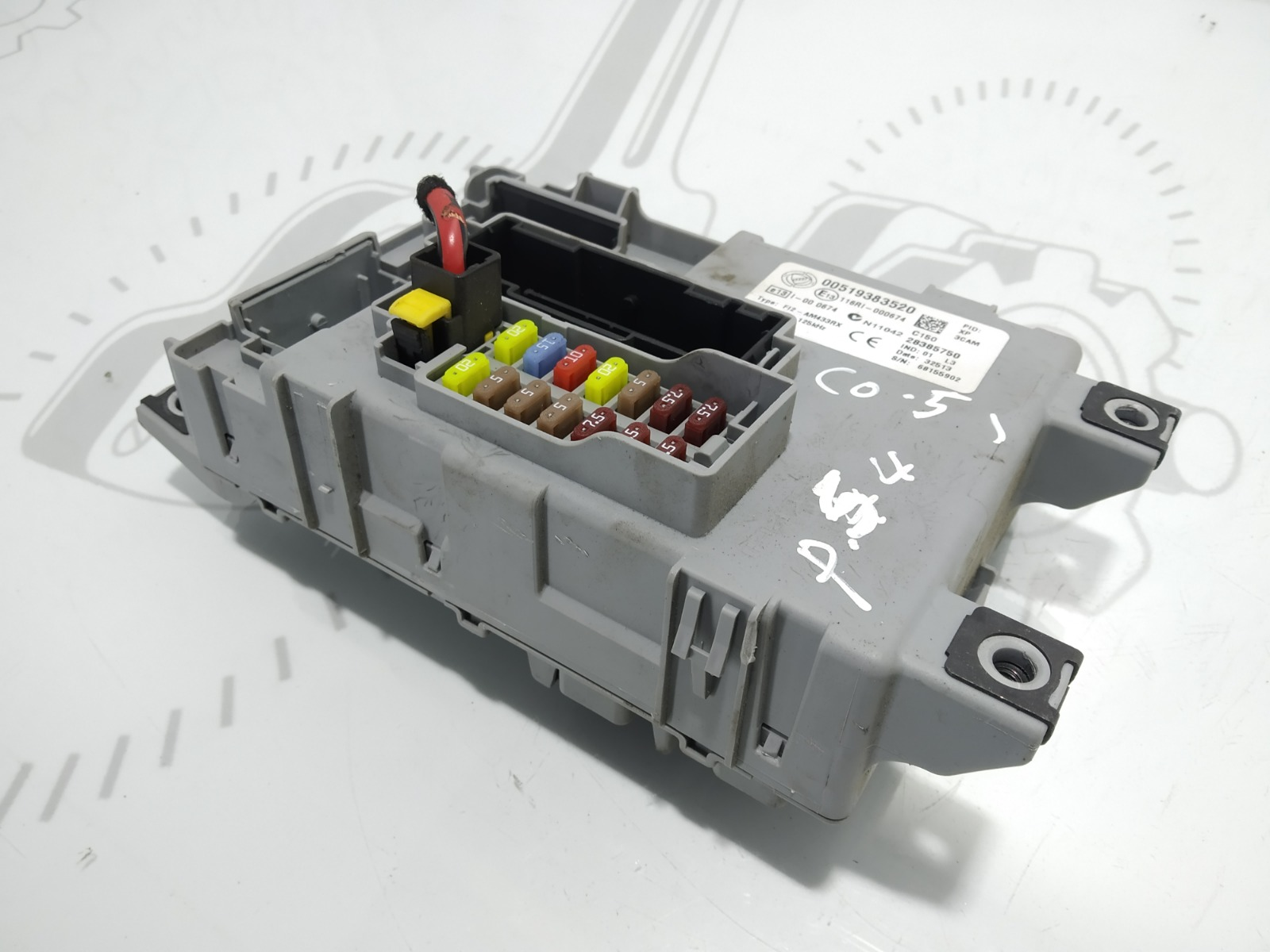 Блок предохранителей Opel Combo D 1.3 CDTI 2014 (б/у)