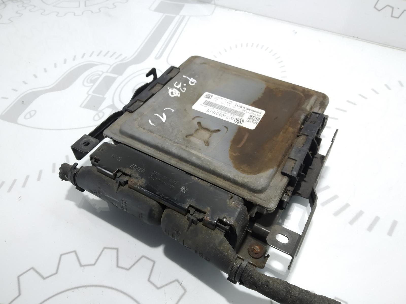 Блок управления двигателем Volkswagen Passat B6 2.0 TDI 2007 (б/у)