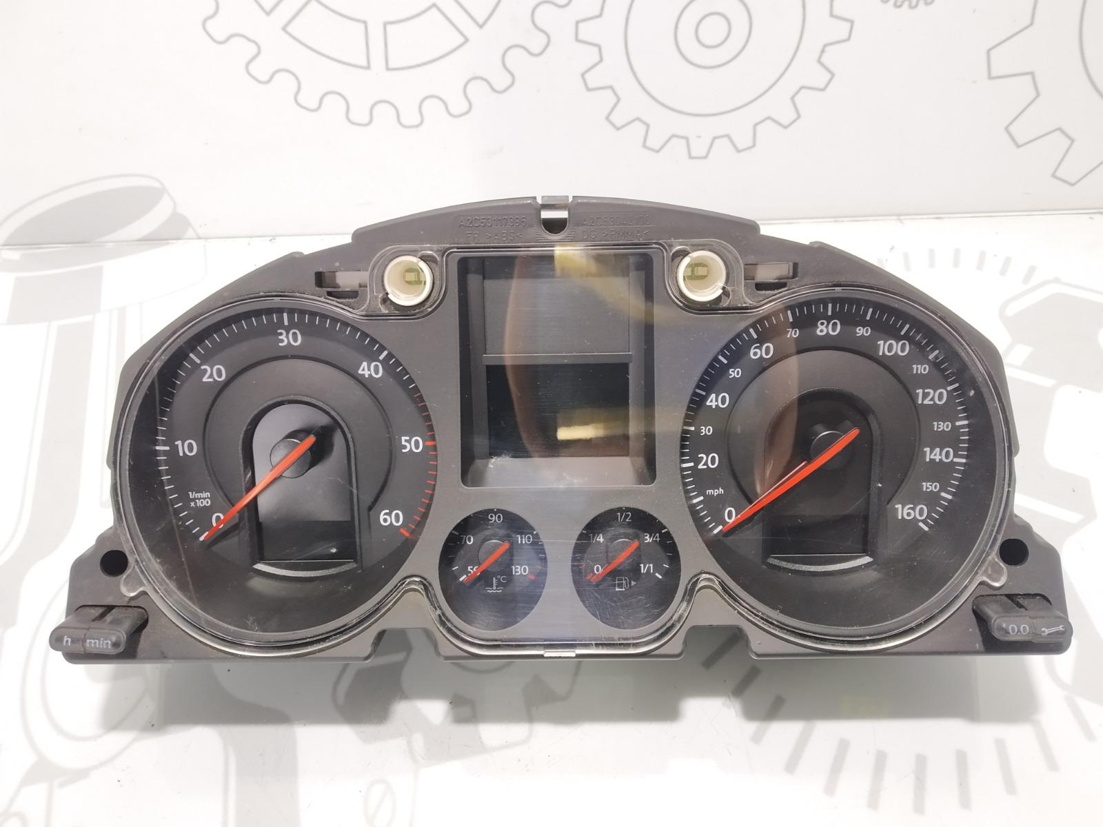 Щиток приборов (приборная панель) Volkswagen Passat B6 2.0 TDI 2007 (б/у)