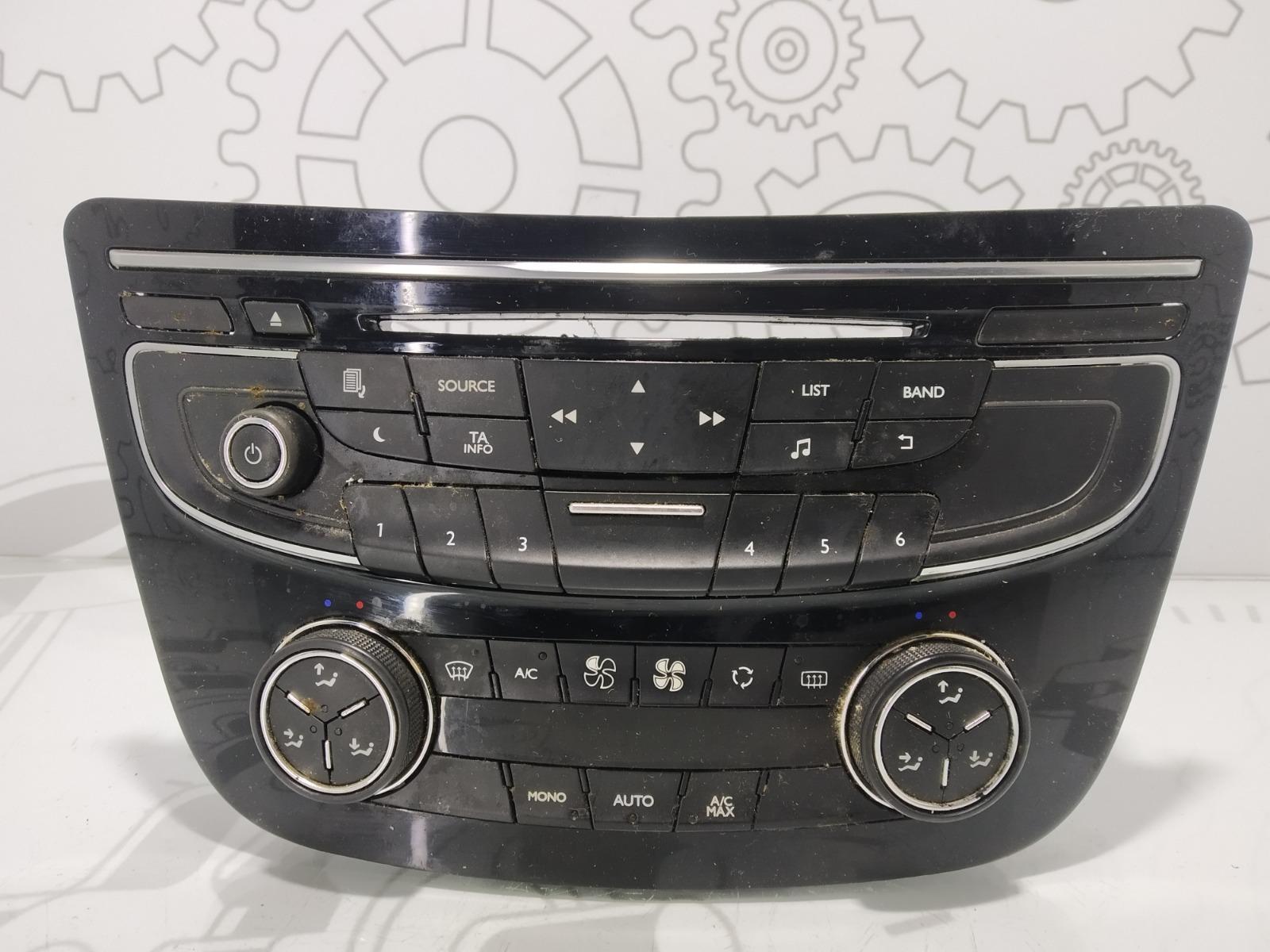 Блок управления печки/климат-контроля Peugeot 508 1.6 HDI 2013 (б/у)