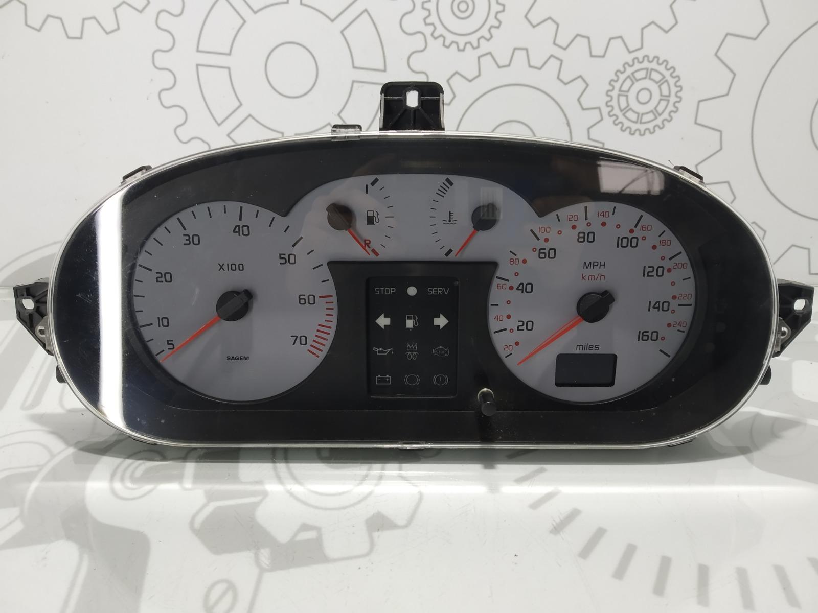 Щиток приборов (приборная панель) Renault Scenic Rx4 2.0 I 2001 (б/у)