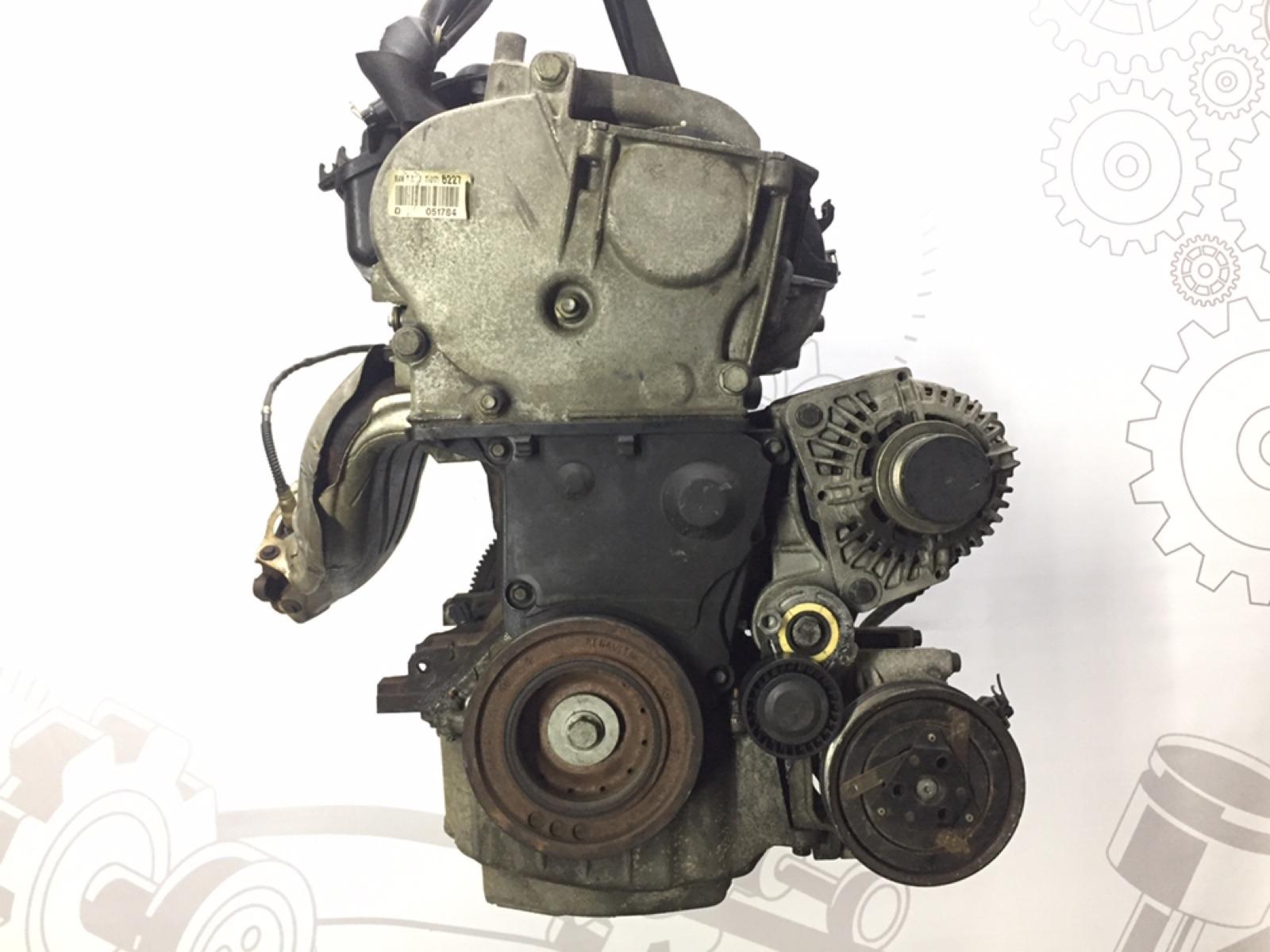 Двигатель бензиновый Renault Scenic 1.6 I 2004 (б/у)
