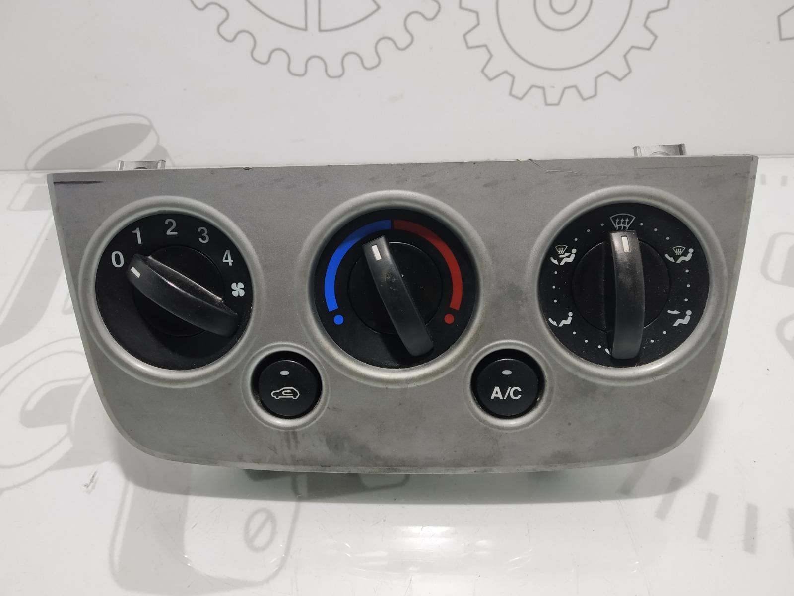 Блок управления печки/климат-контроля Ford Fiesta 1.4 CDTI 2007 (б/у)