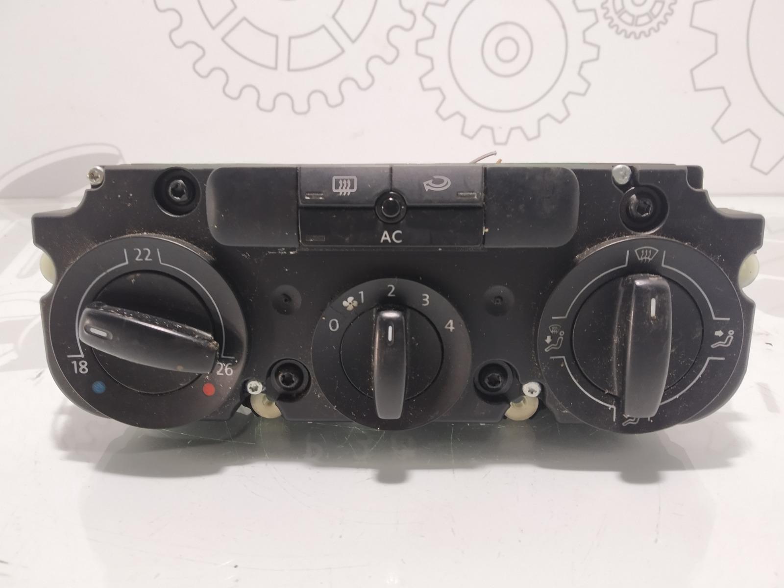 Блок управления печки/климат-контроля Volkswagen Passat B6 2.0 TDI 2007 (б/у)