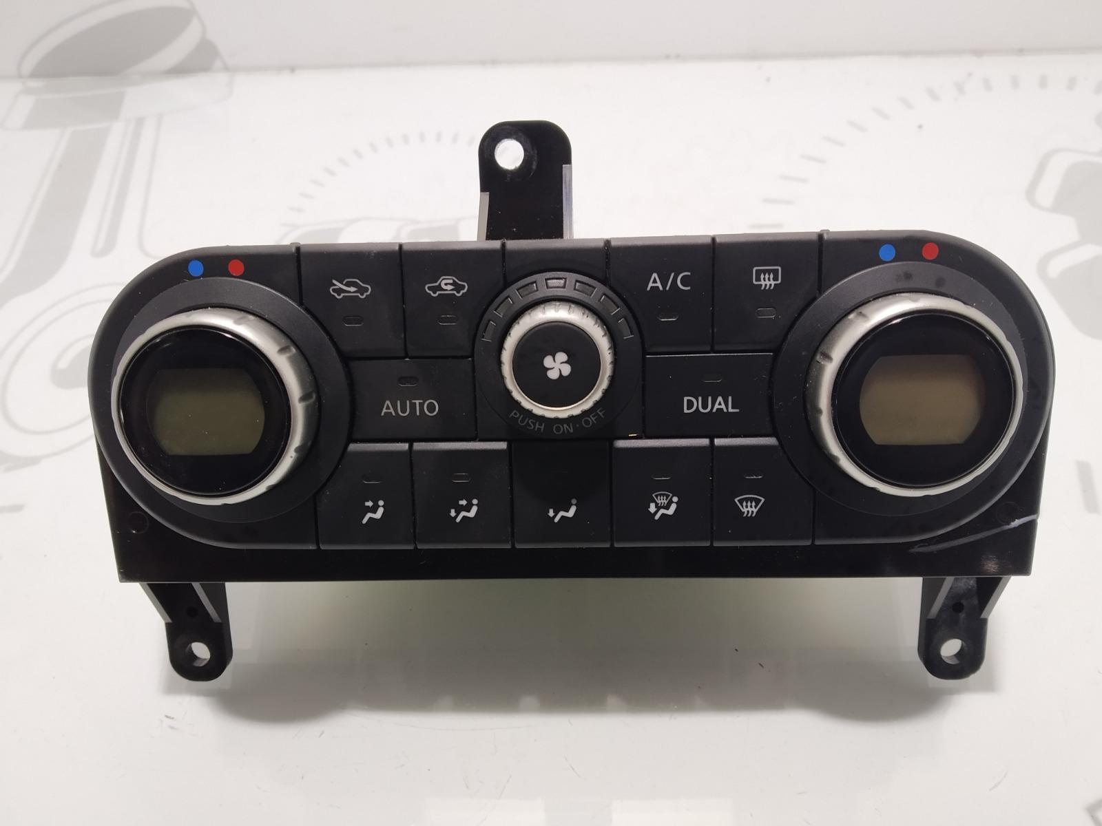 Блок управления печки/климат-контроля Nissan Qashqai 1.5 DCI 2007 (б/у)