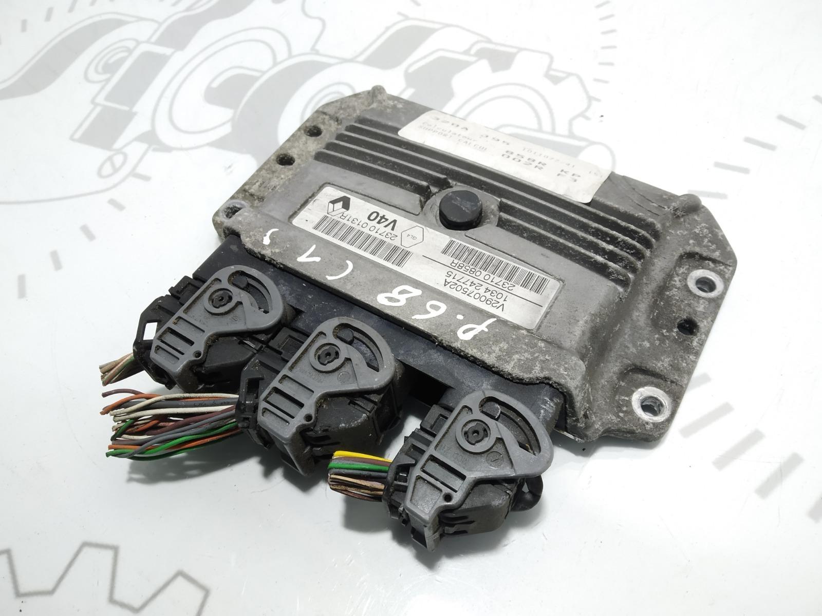 Блок управления двигателем Renault Grand Scenic 1.6 I 2011 (б/у)
