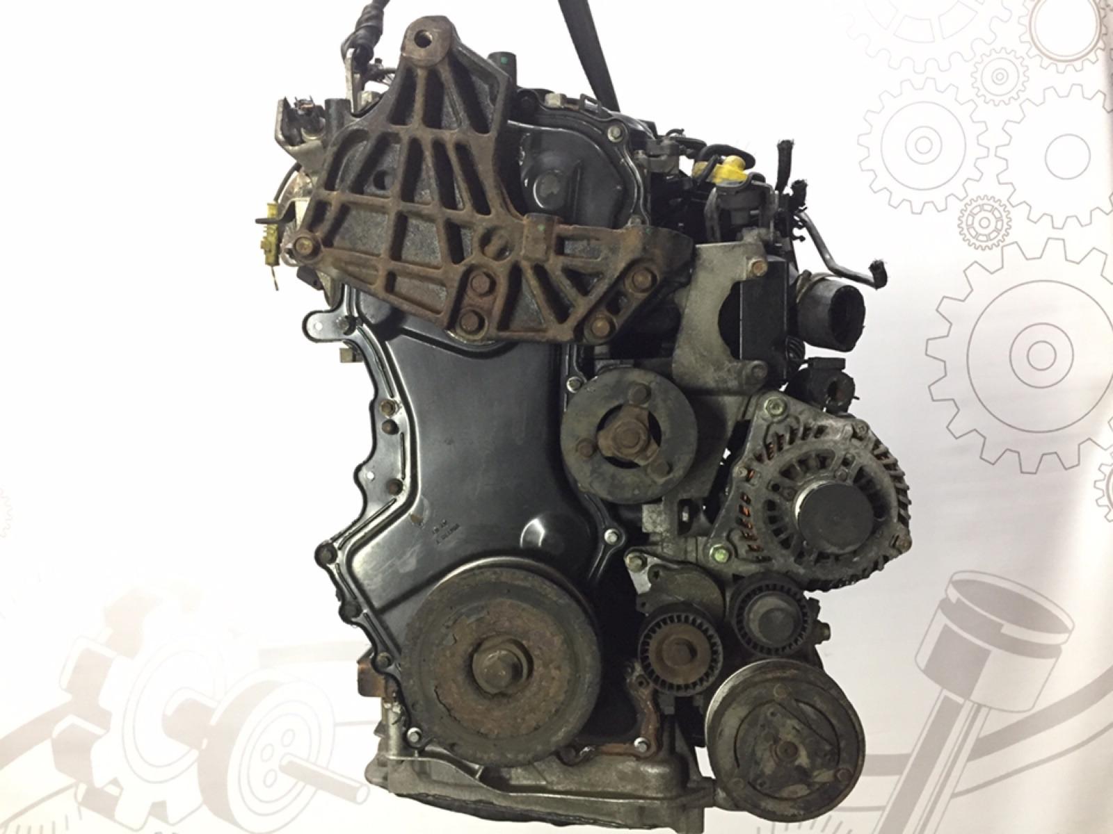 Двигатель дизельный Nissan Qashqai 2.0 DCI 2008 (б/у)