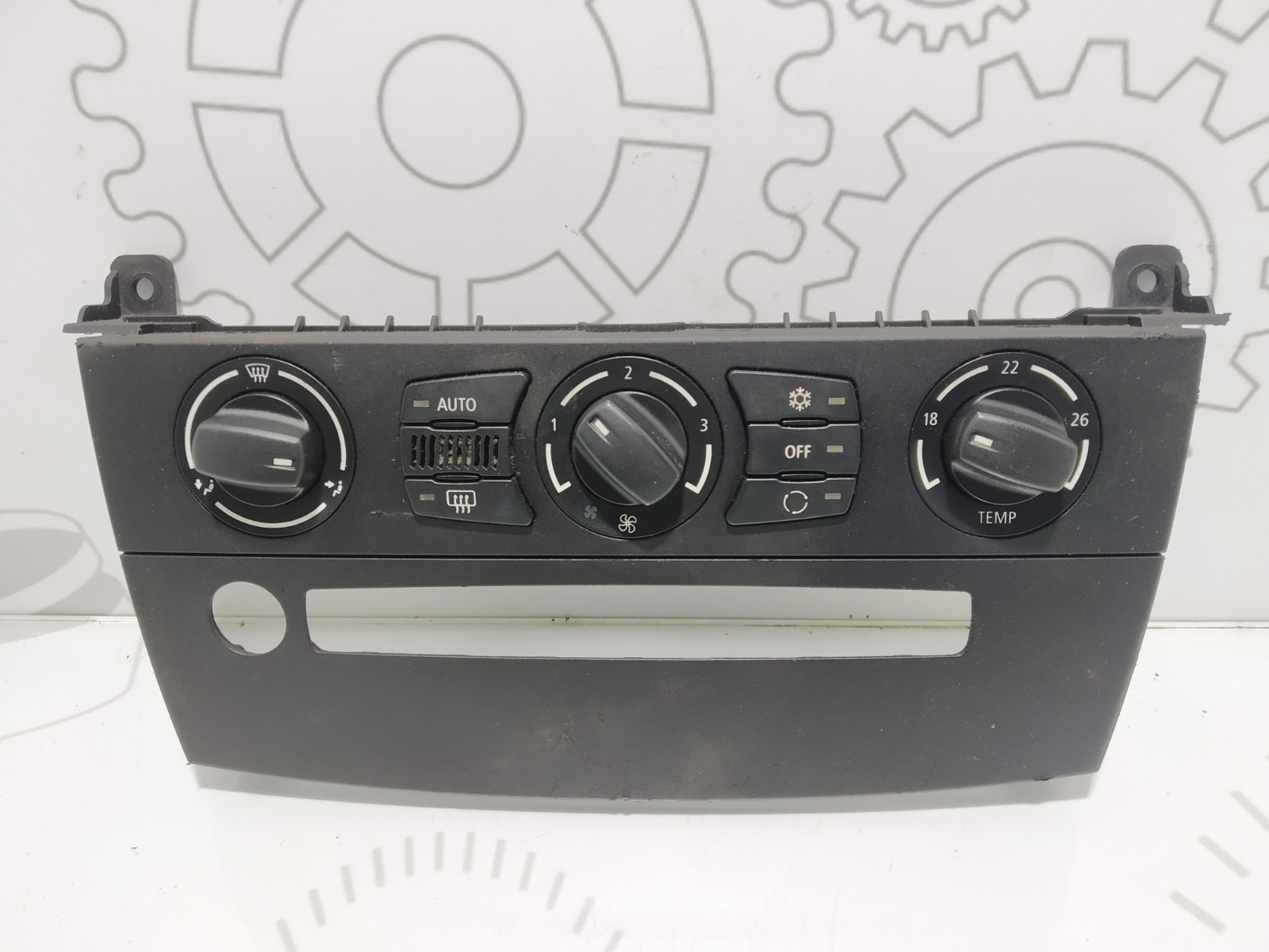 Блок управления печки/климат-контроля Bmw 5 E60 3.0 I 2004 (б/у)
