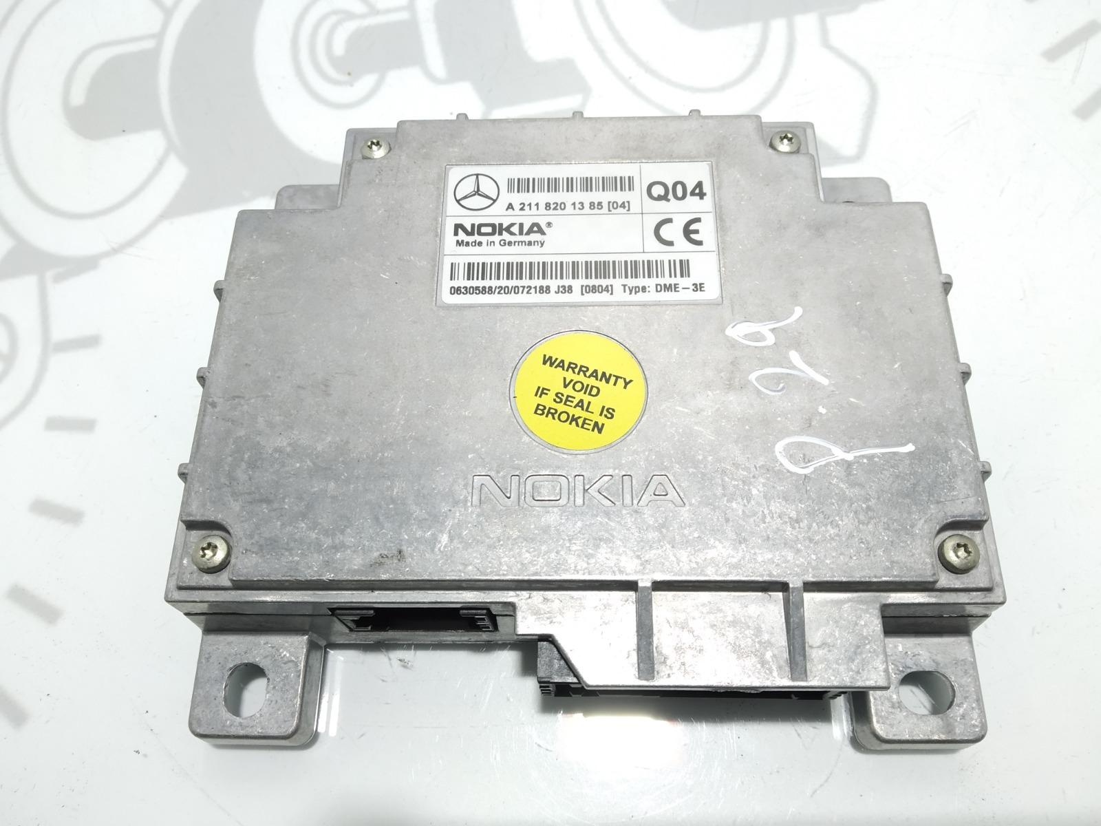 Блок управления телефоном Mercedes E W211 3.2 CDI 2003 (б/у)