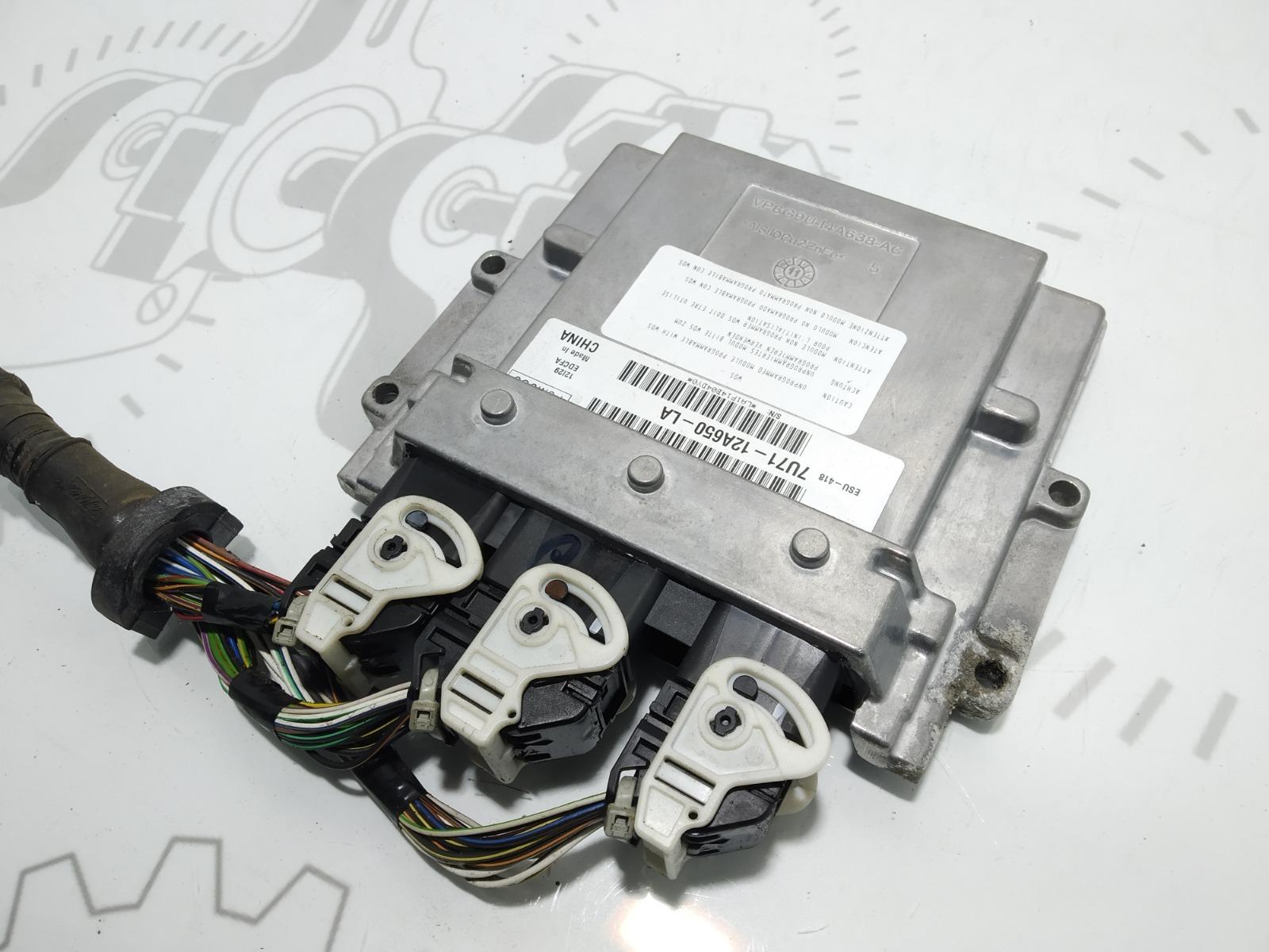 Блок управления двигателем Ford C-Max 1.8 I 2007 (б/у)